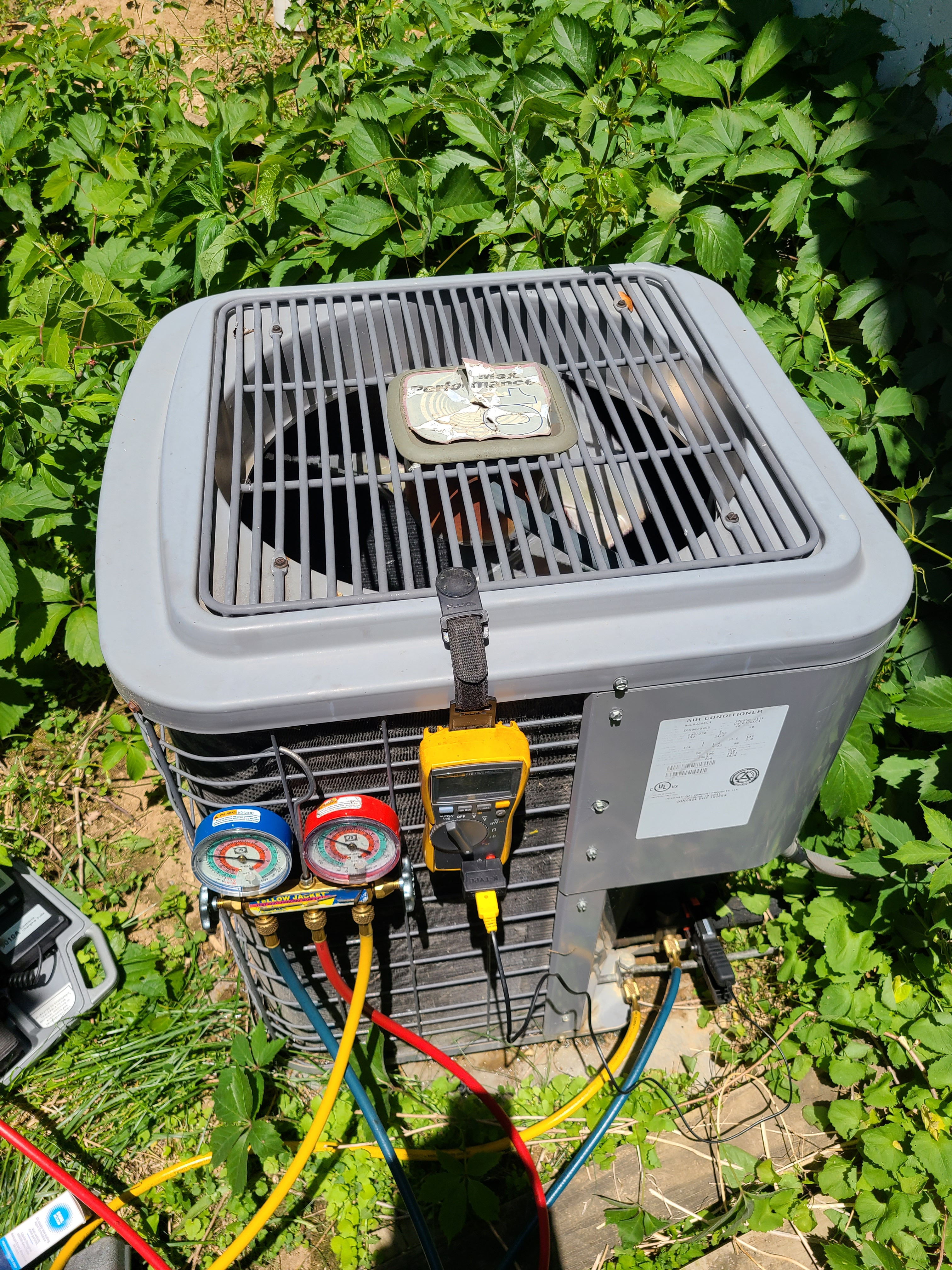 Heil ac no cooling issue diagnosed and repaired.