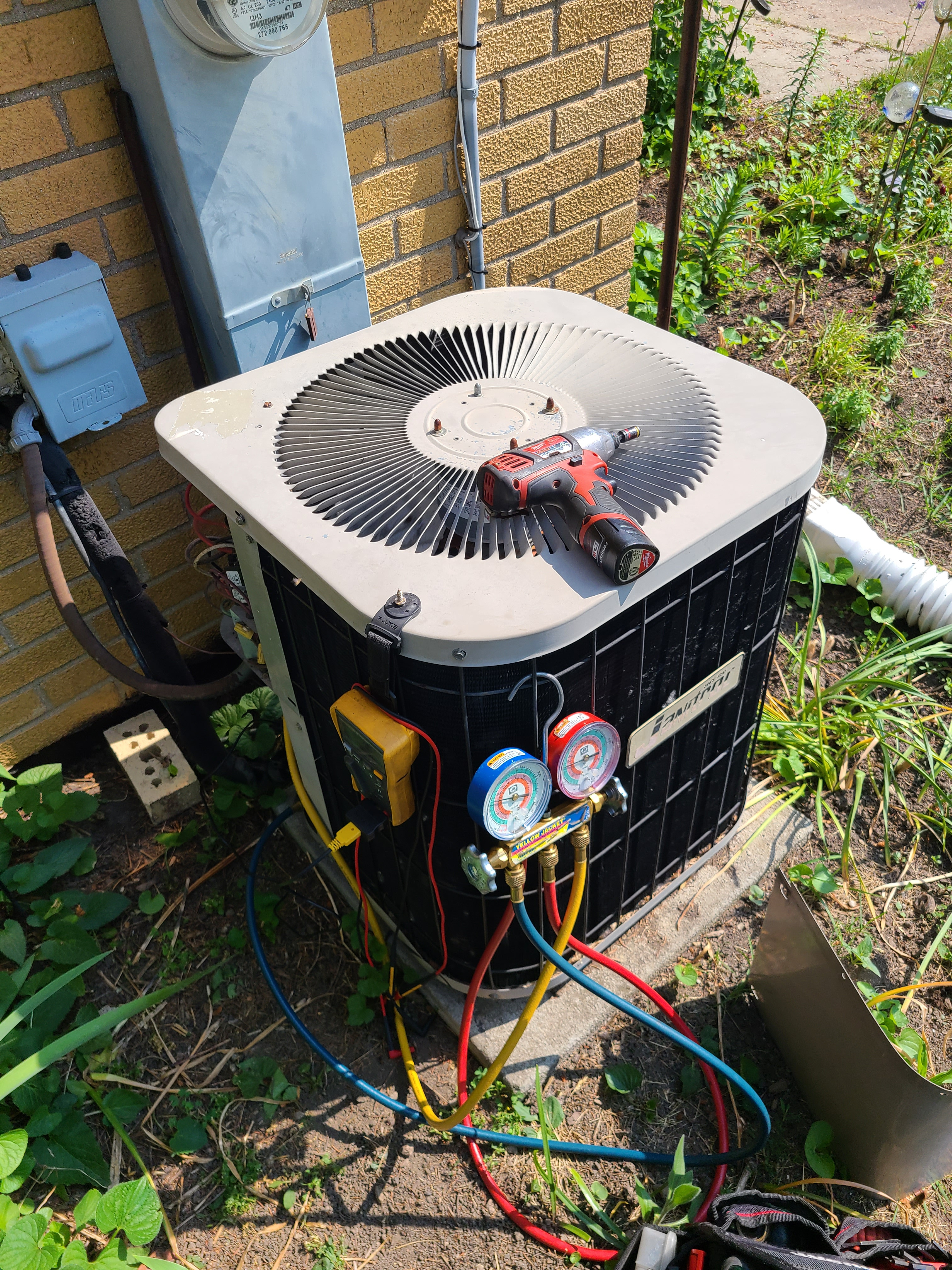 Janitrol summer ac clean and check.  System tuned up and ready for summer.