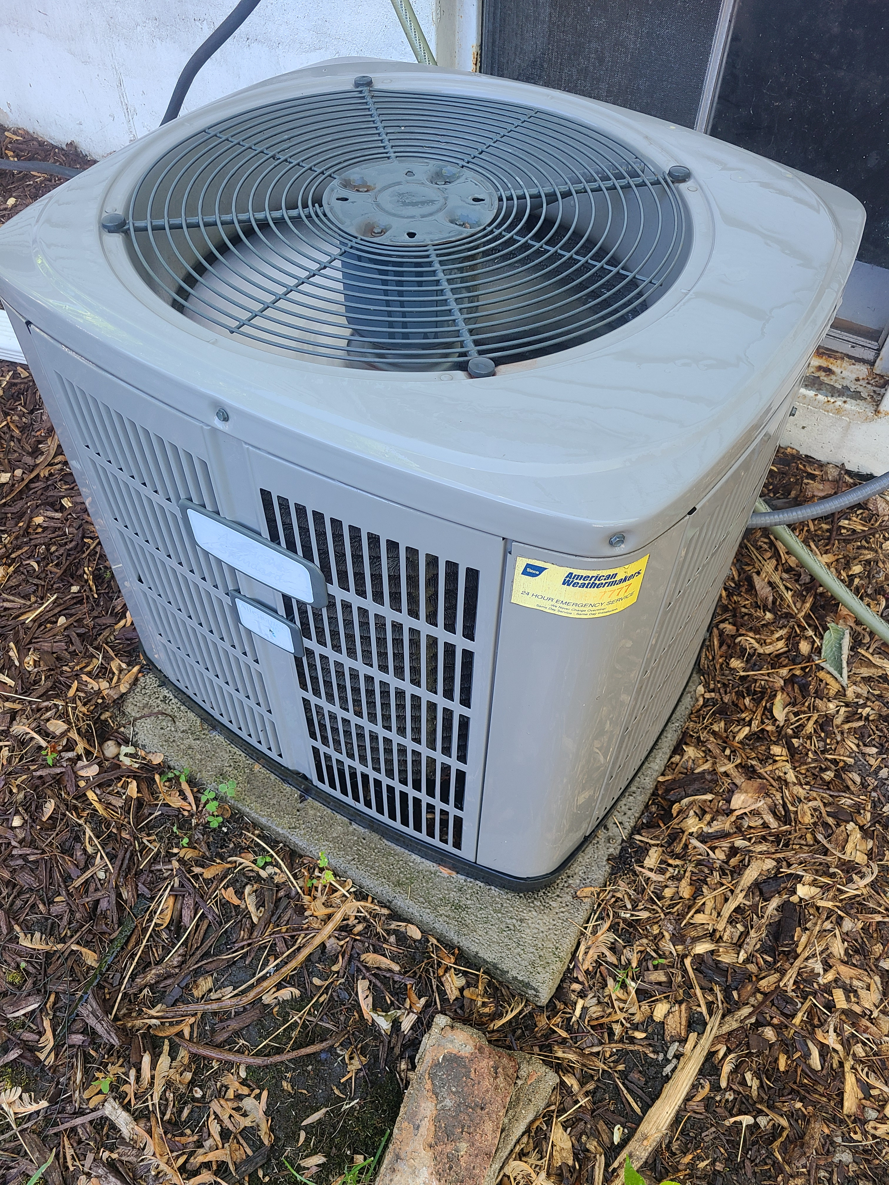 American Standard air conditioning tuneup.
