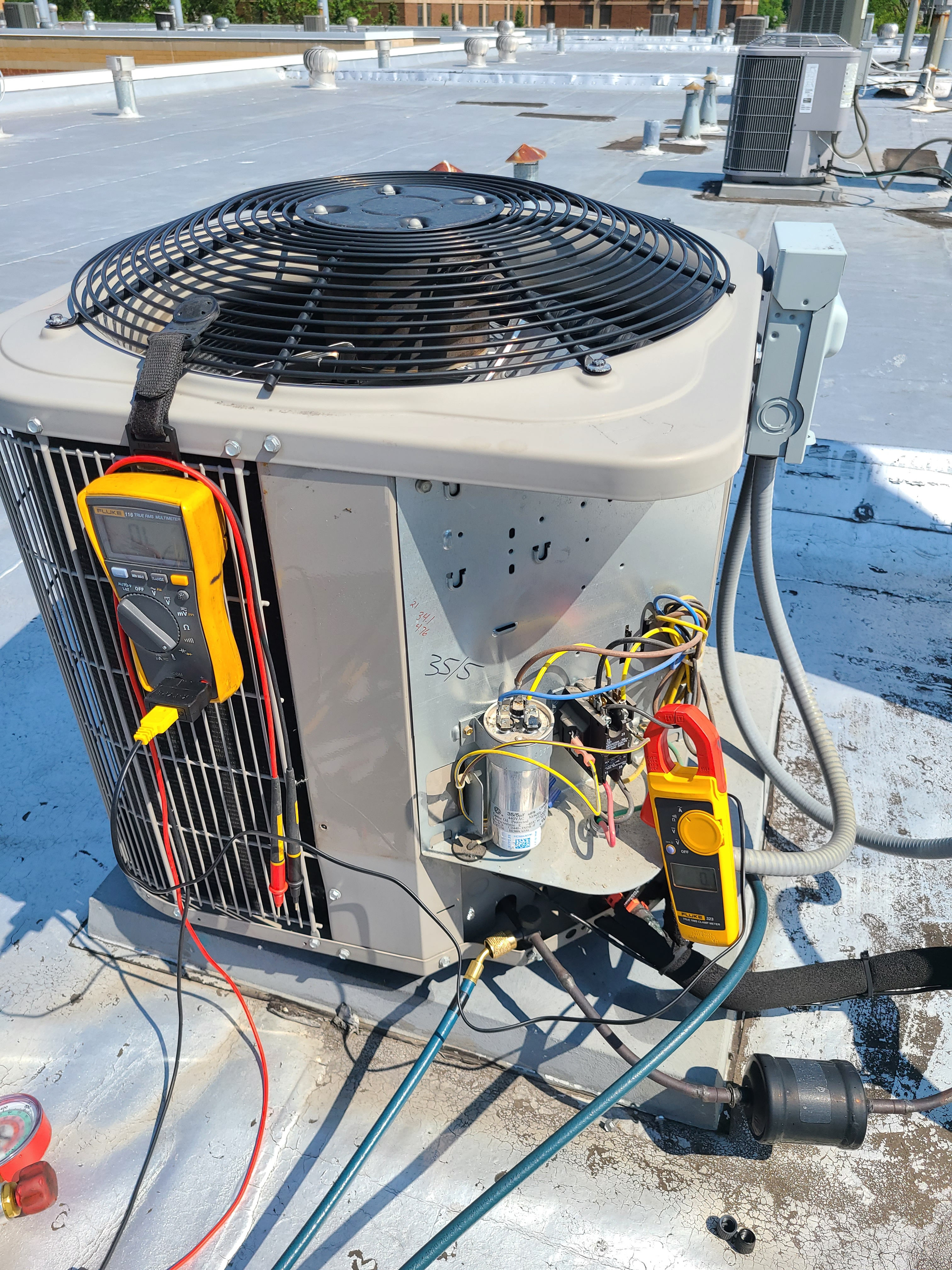 Carrier summer ac tune up. System cleaned and checked and ready for summer.
