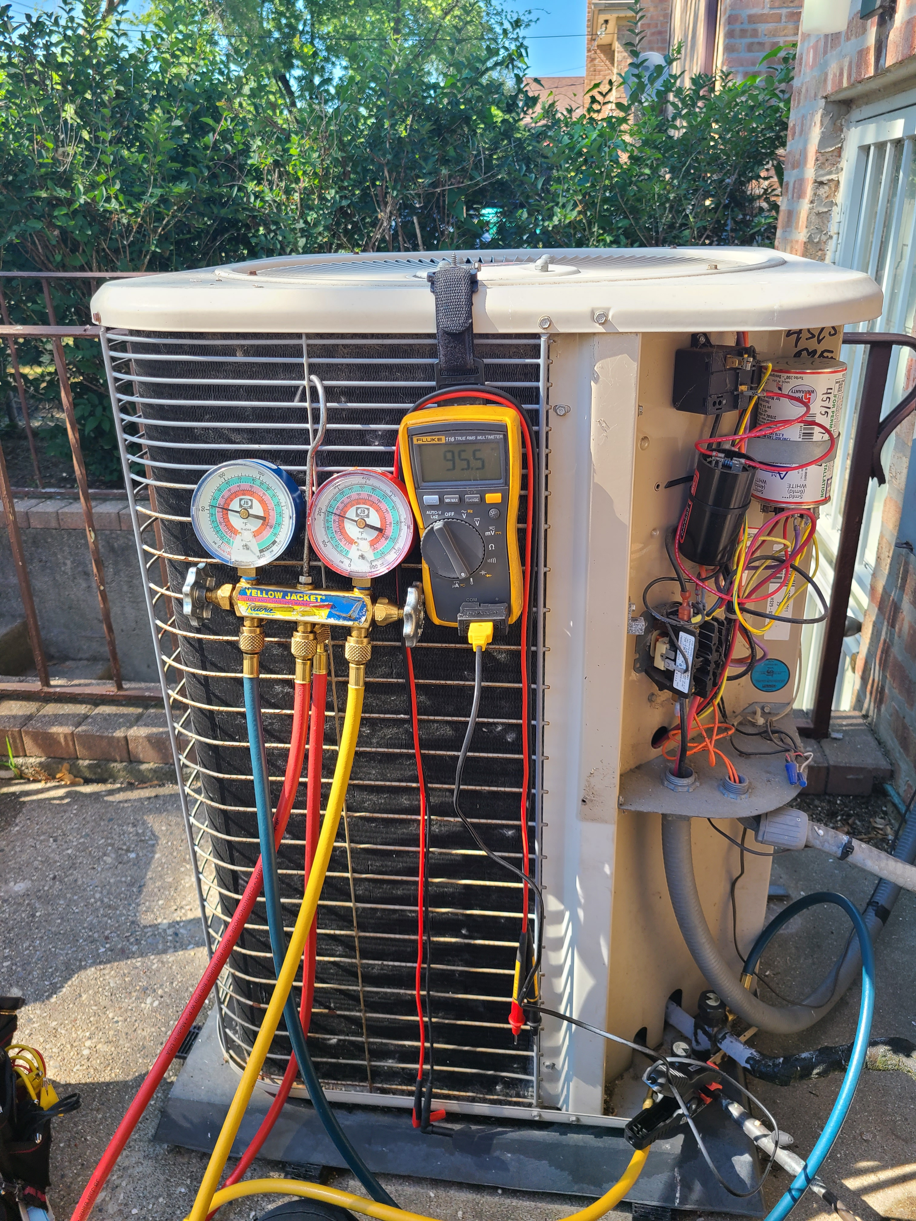 Lennox summer ac clean and check. System tuned up and ready for summer.