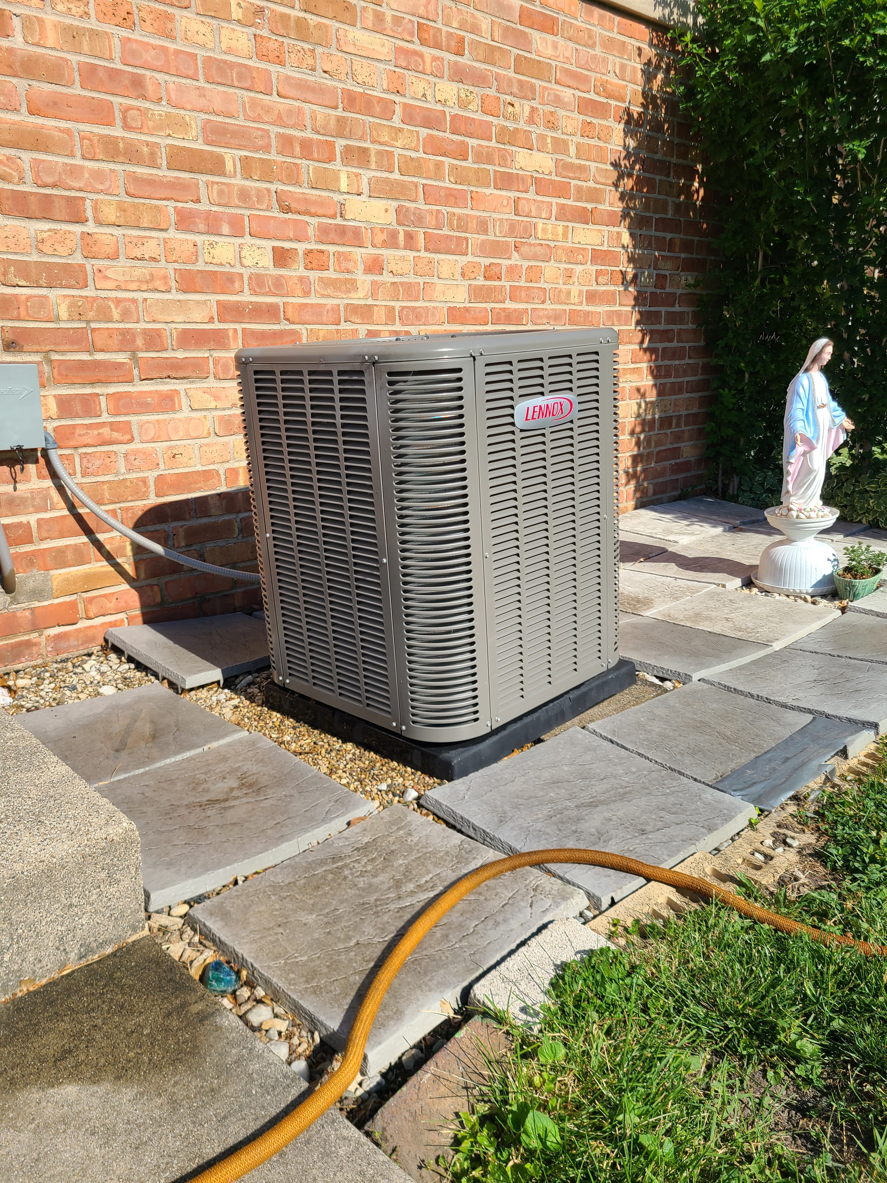 Lennox r410a system cleaned and repairs made...ready for spring/ summer operation