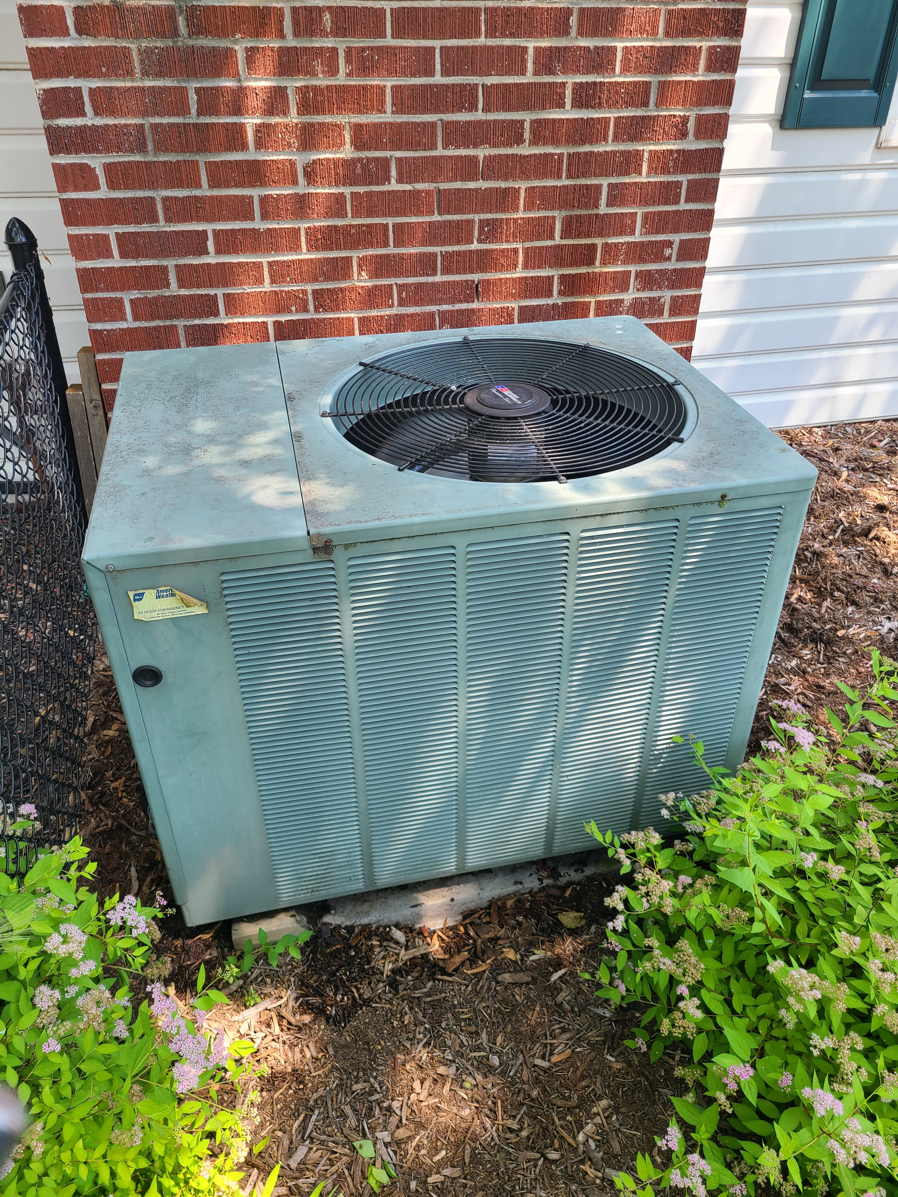 Rheem summer ac clean and check. System tuned up and ready for summer.