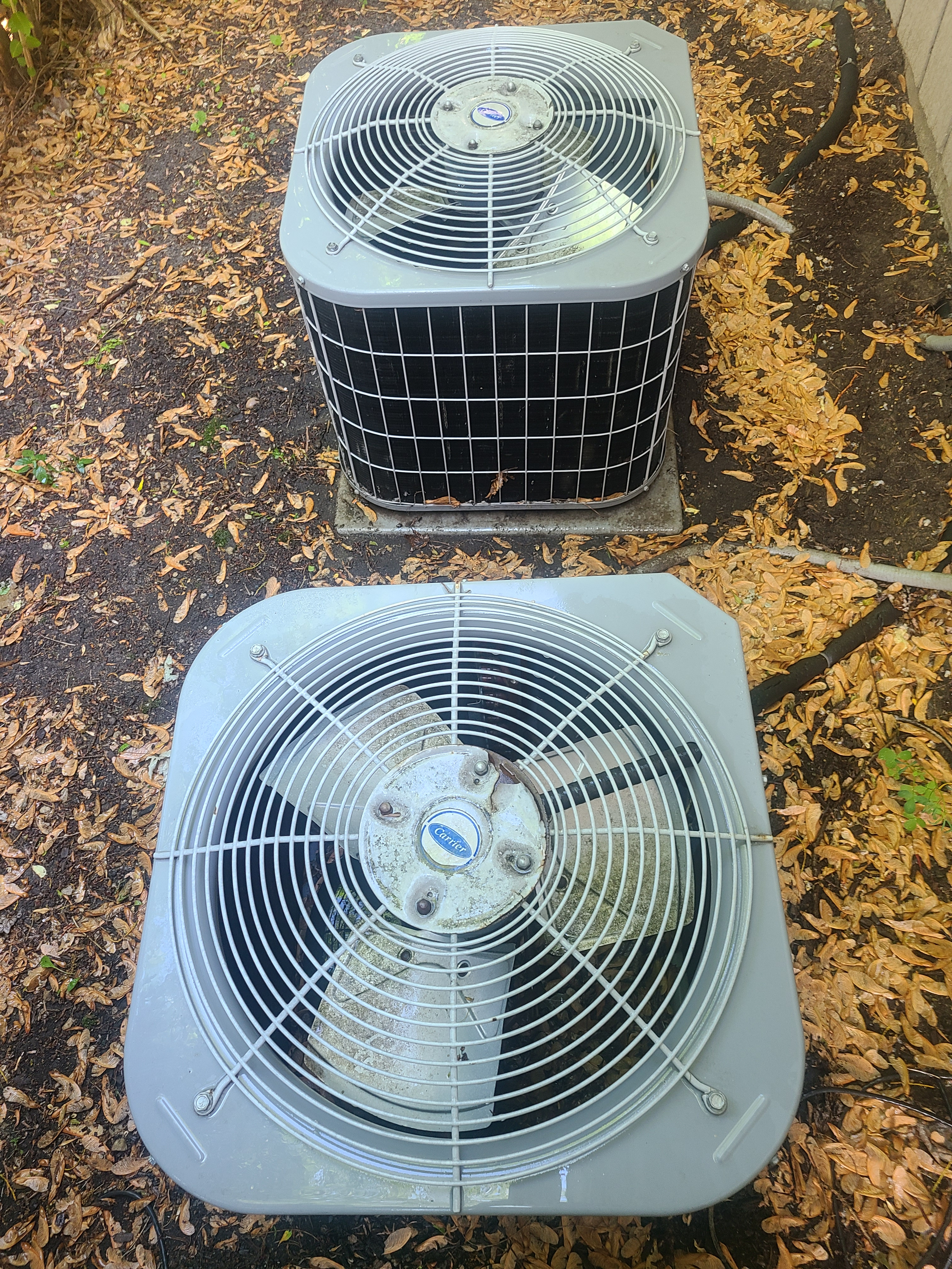 Carrier air conditioning maintenance for Comfort Club.