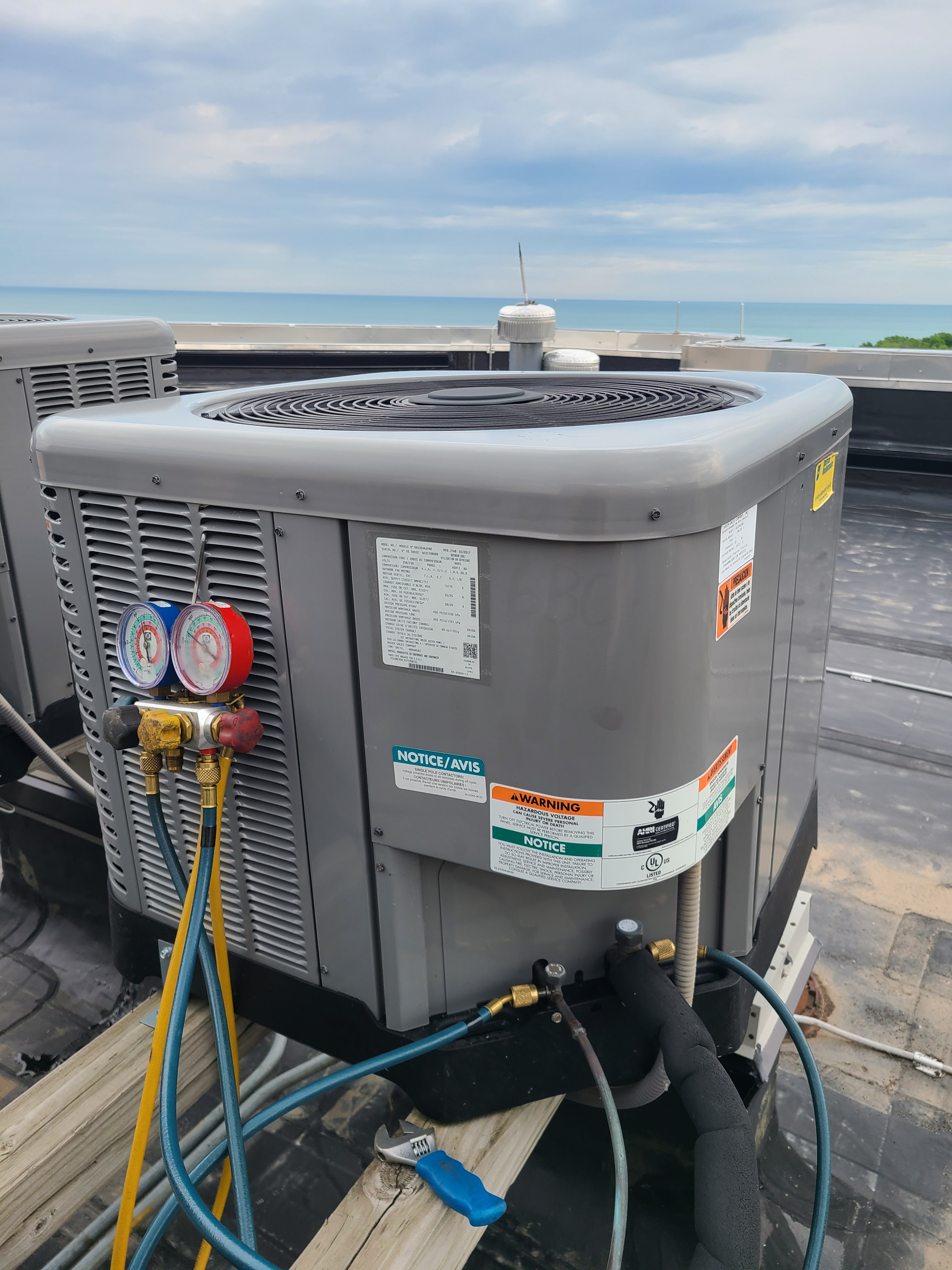 Ruud summer ac clean and check. System tuned up and ready for summer.