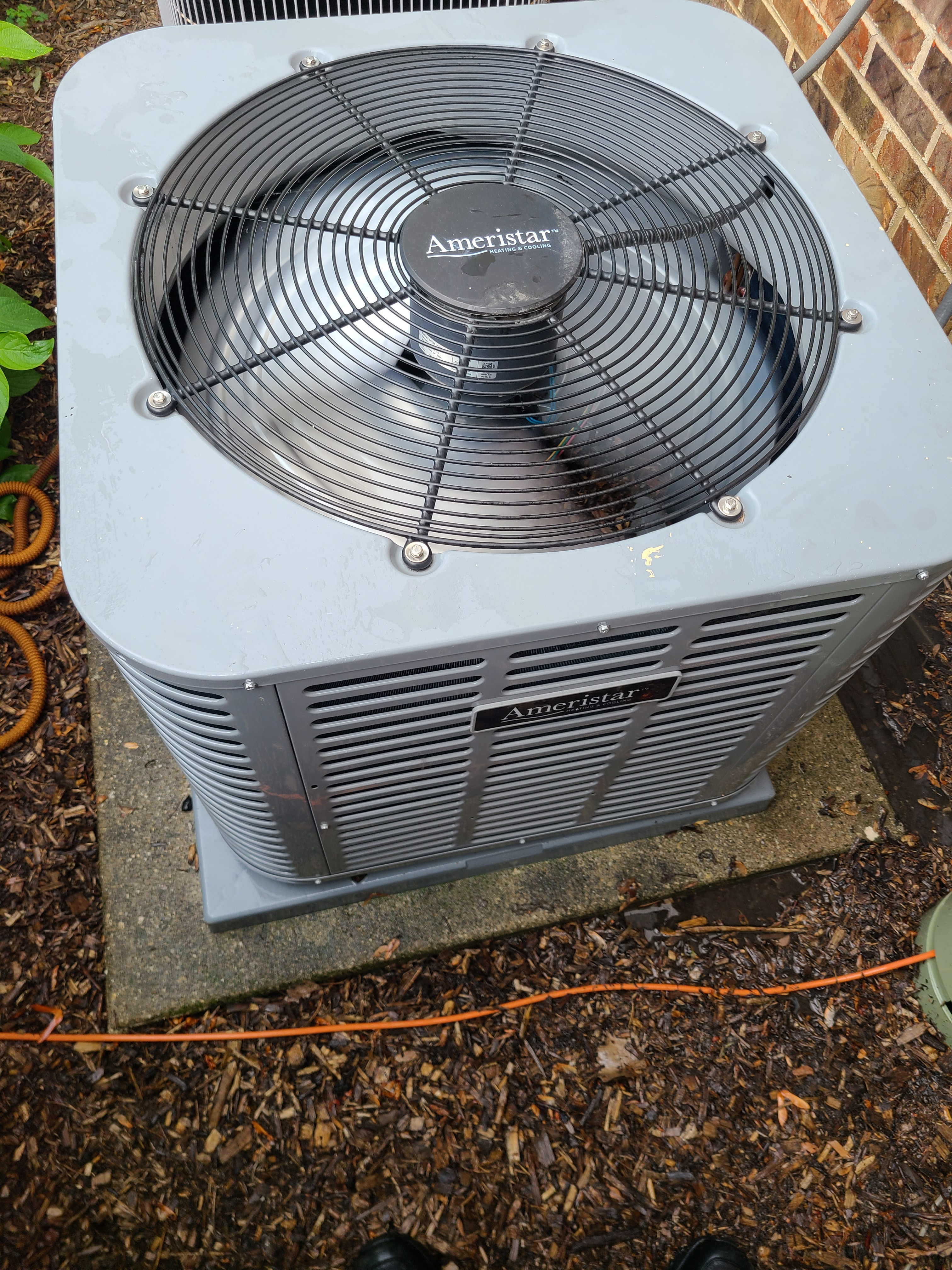 Ameristar r410a system cleaned tested and ready for summer operation