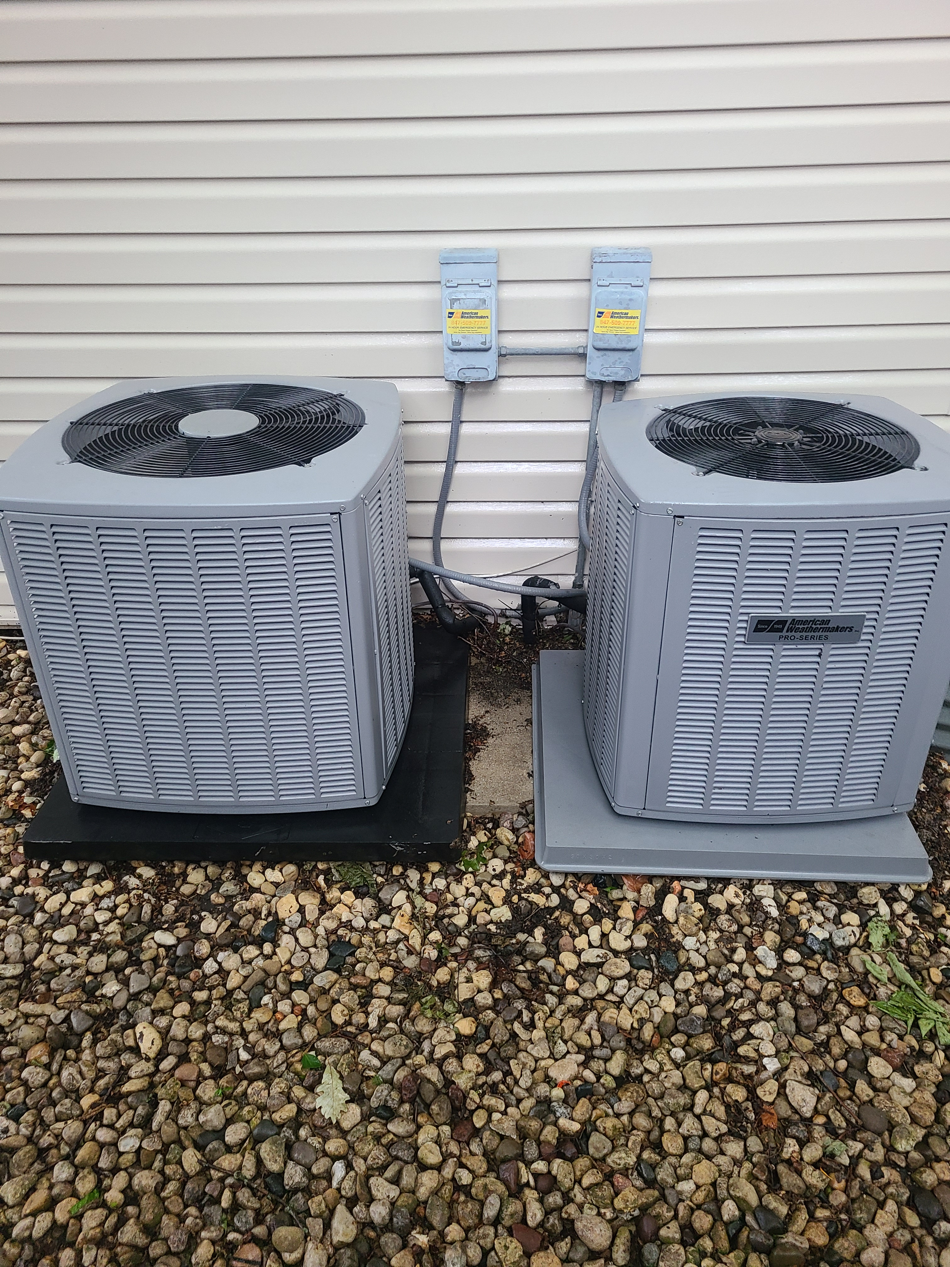 Armstrong air conditioning maintenance.