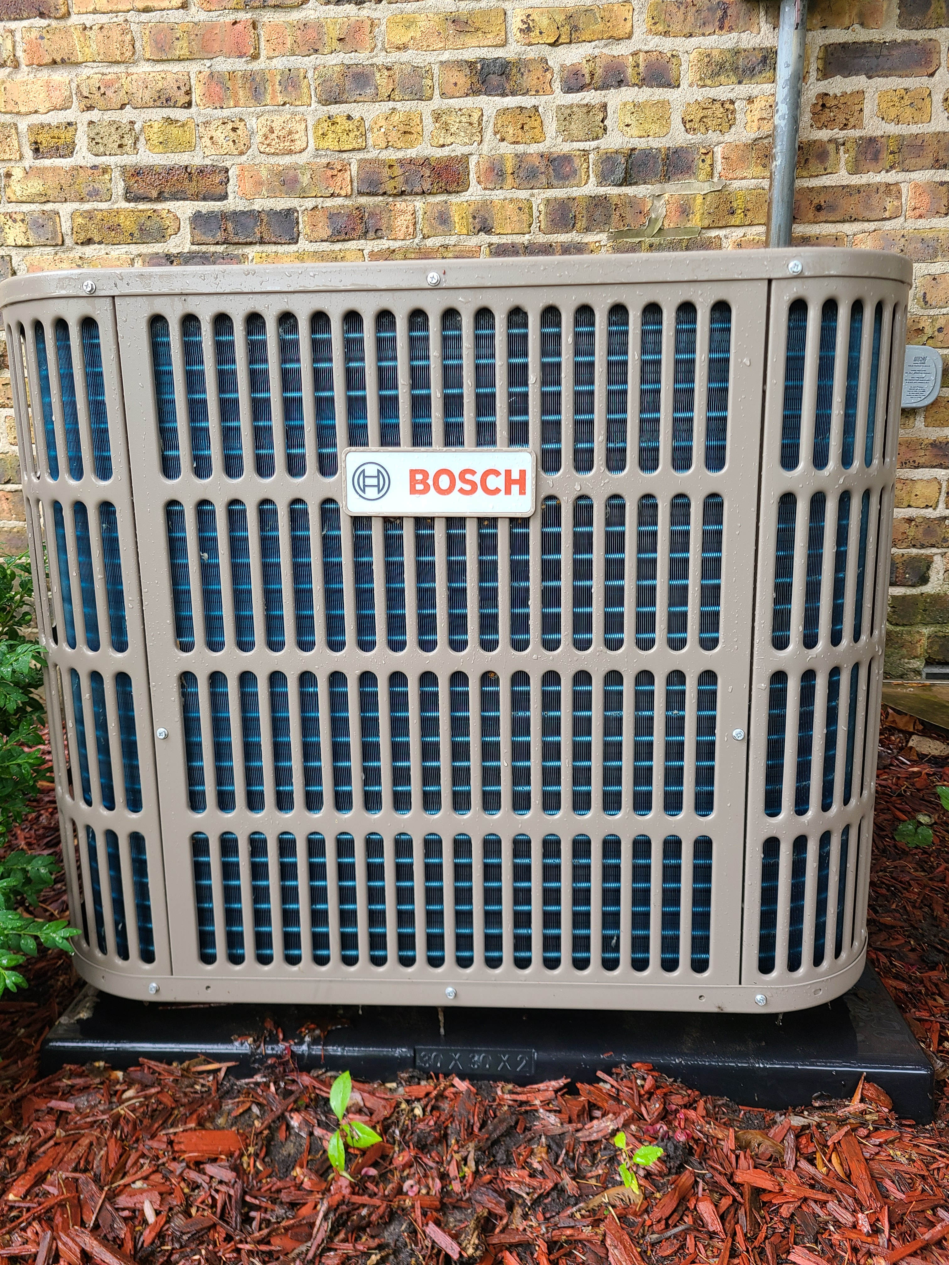 Bosch r410a system cleaned and tested...ready for summer operation