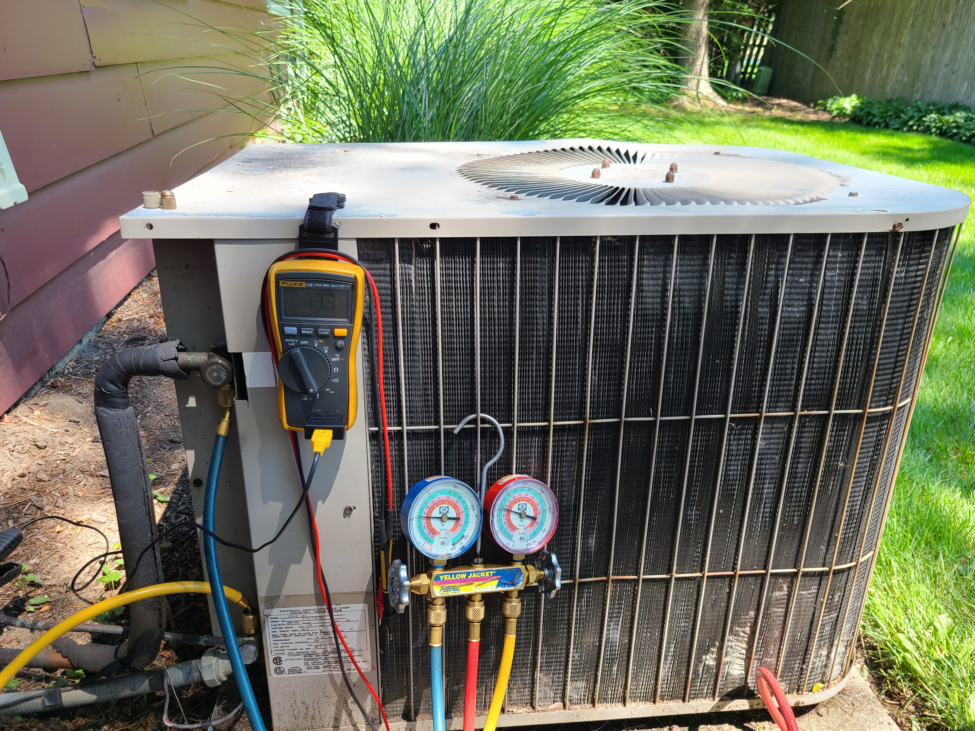 Janitrol ac summer clean and check. System tuned up and ready for summer.