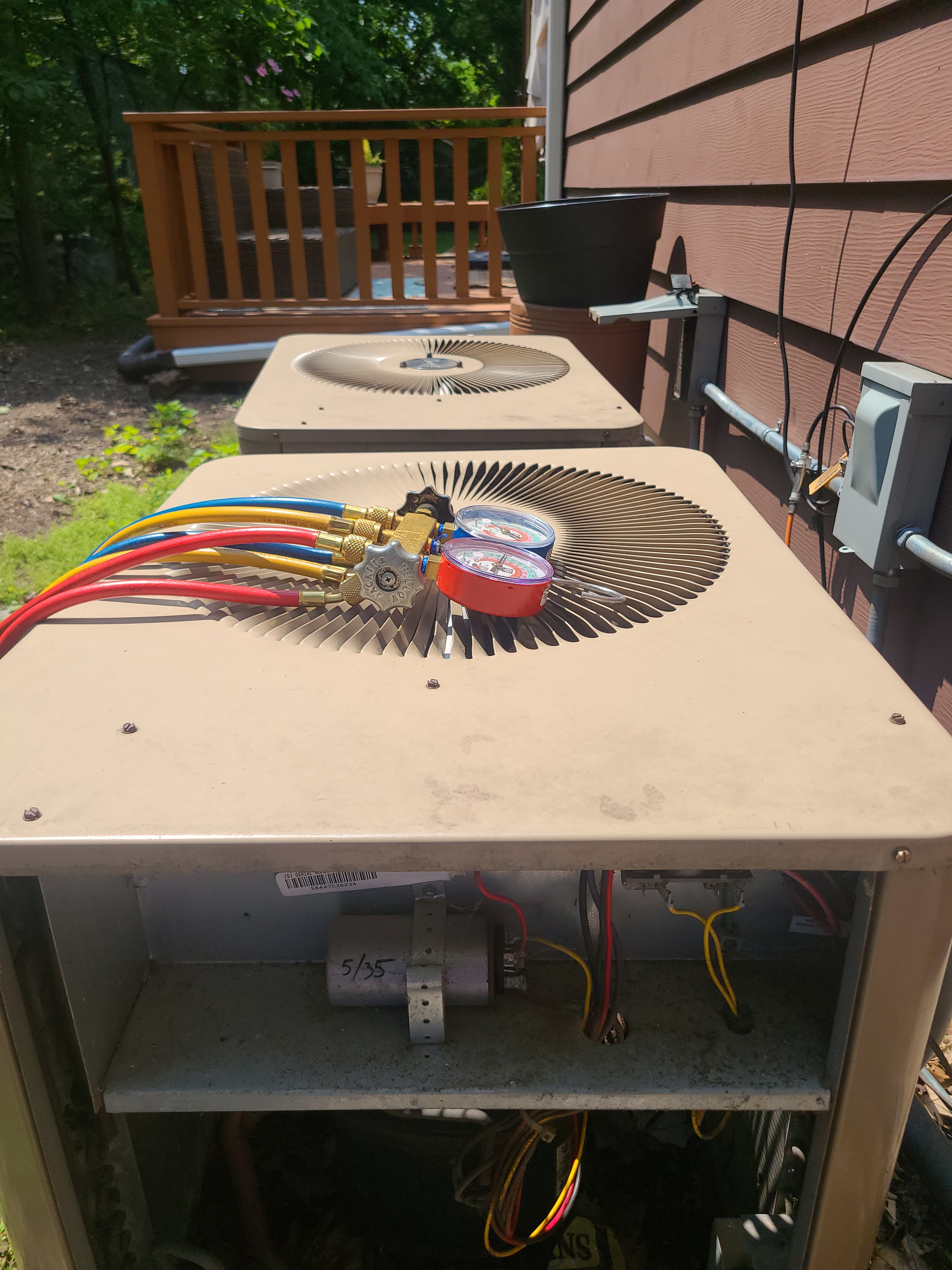 AC maintenance on Armstrong units in Evanston
