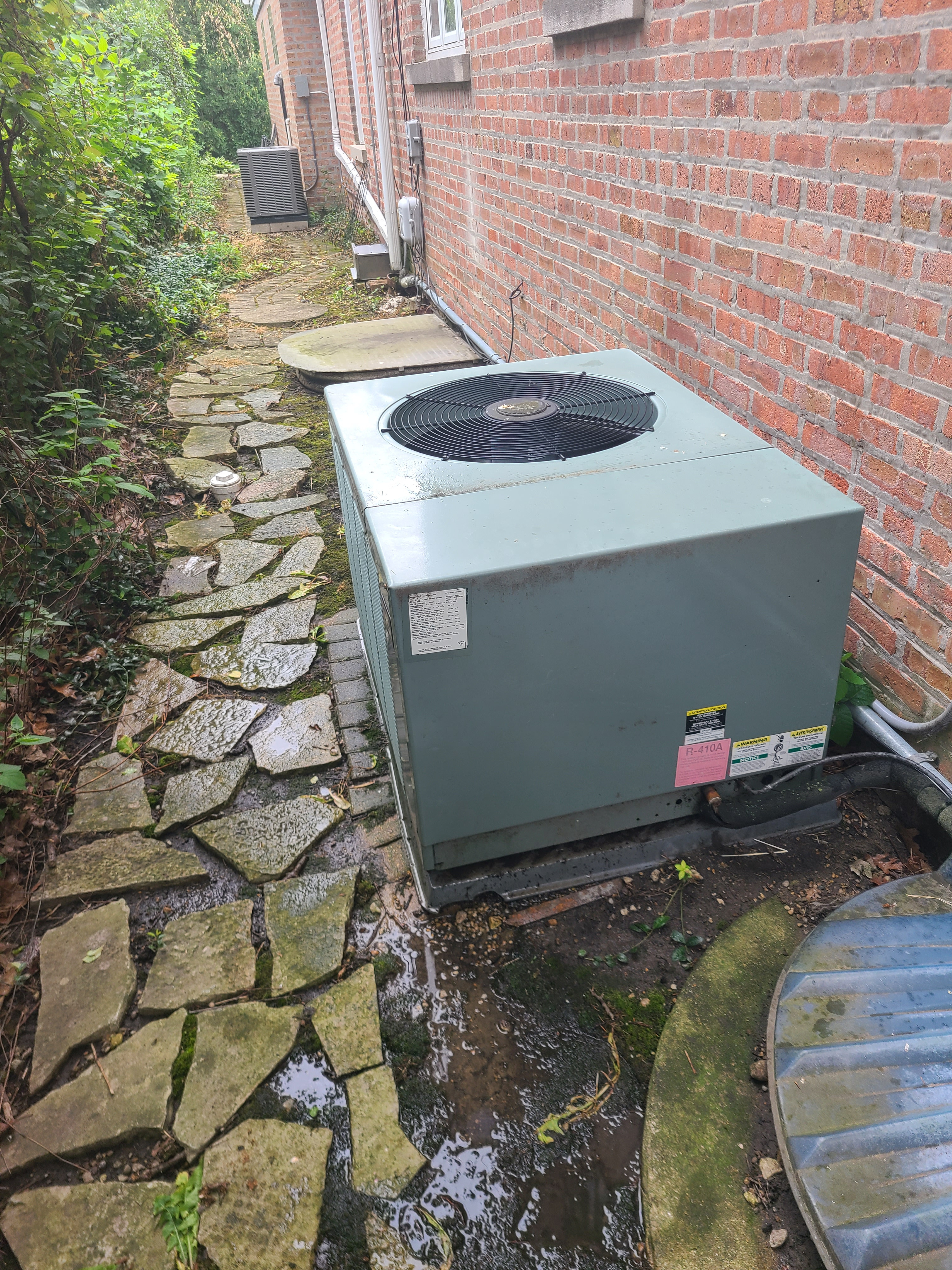 RUUD r410a system cleaned tested and gassed