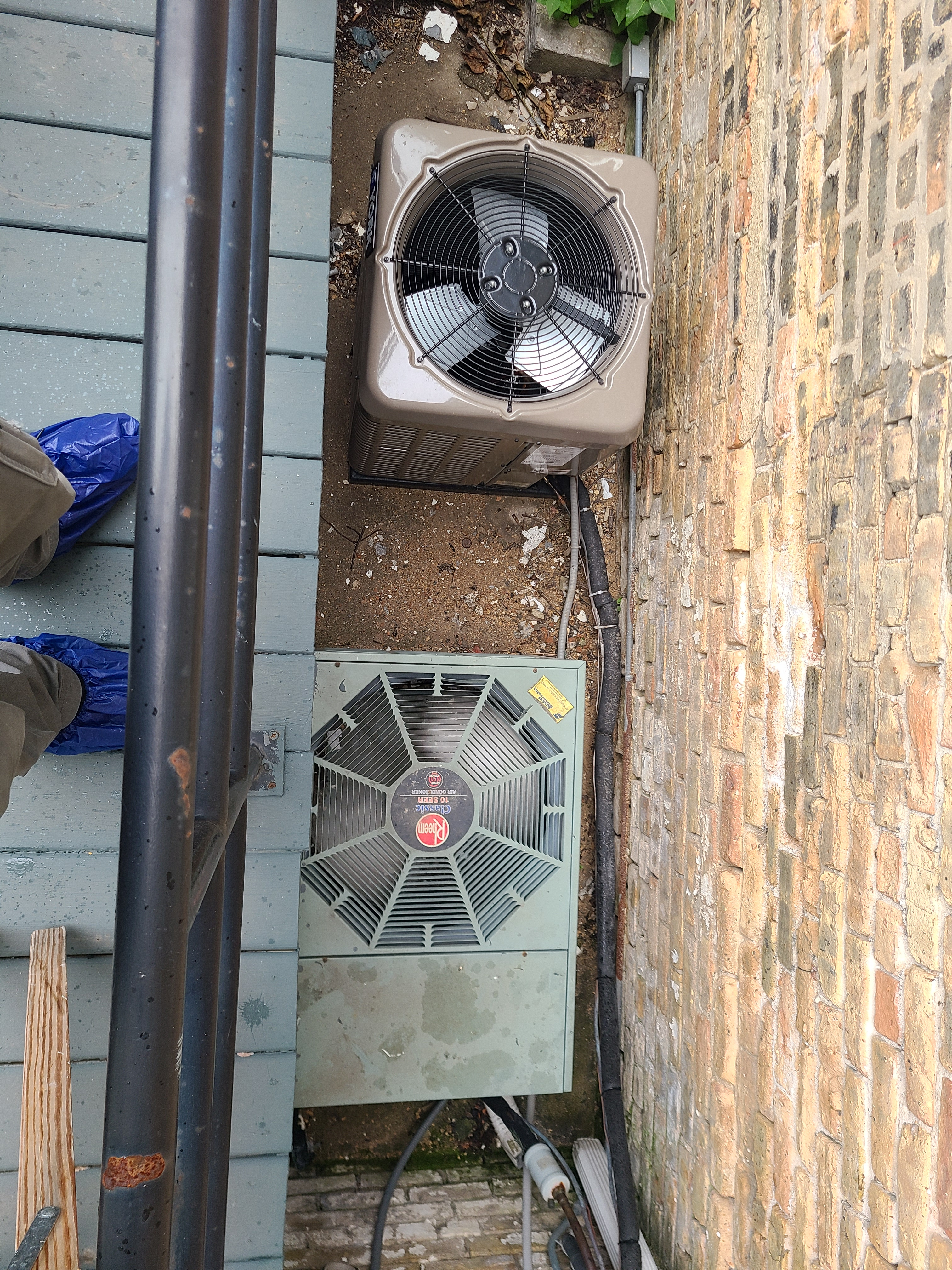 York 410a and RHEEM r22 unit...cleaned and tested