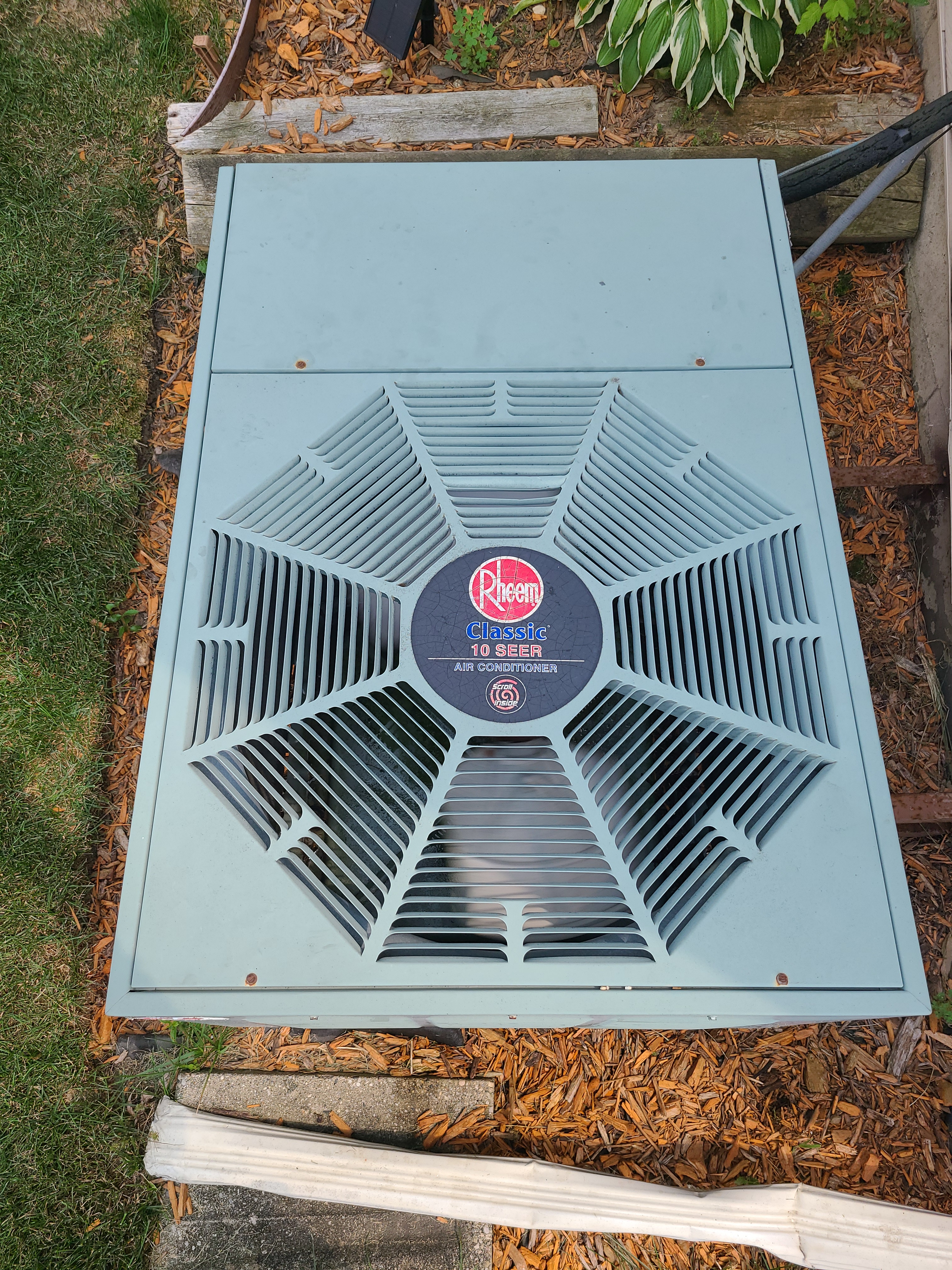 Performed preventative maintenance on a Rheem R22 system to extend the life of the unit. Checked voltage, amperage, temperatures, pressures, and microfarads. Washed condenser coil thoroughly.