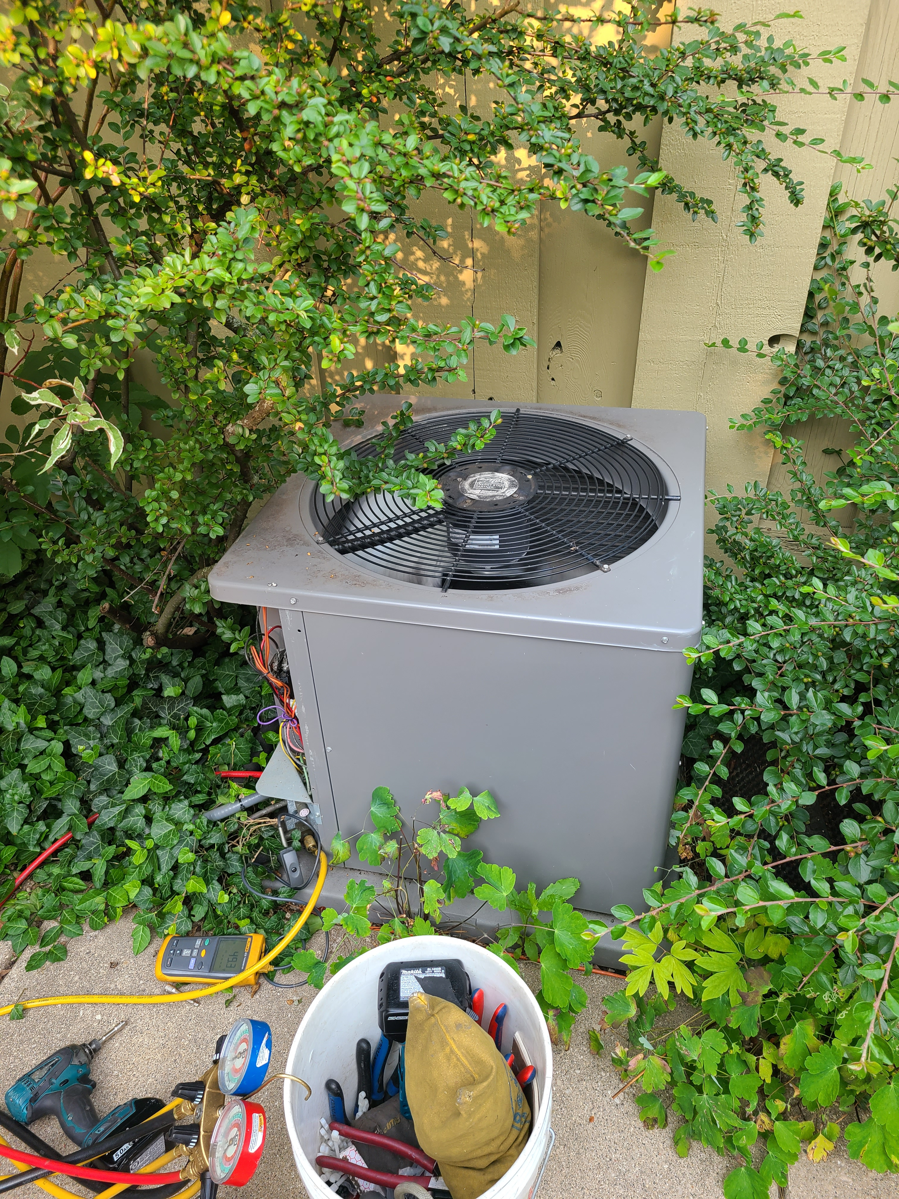 Performed routine maintenance on ac system Northbrook  Ruud unit