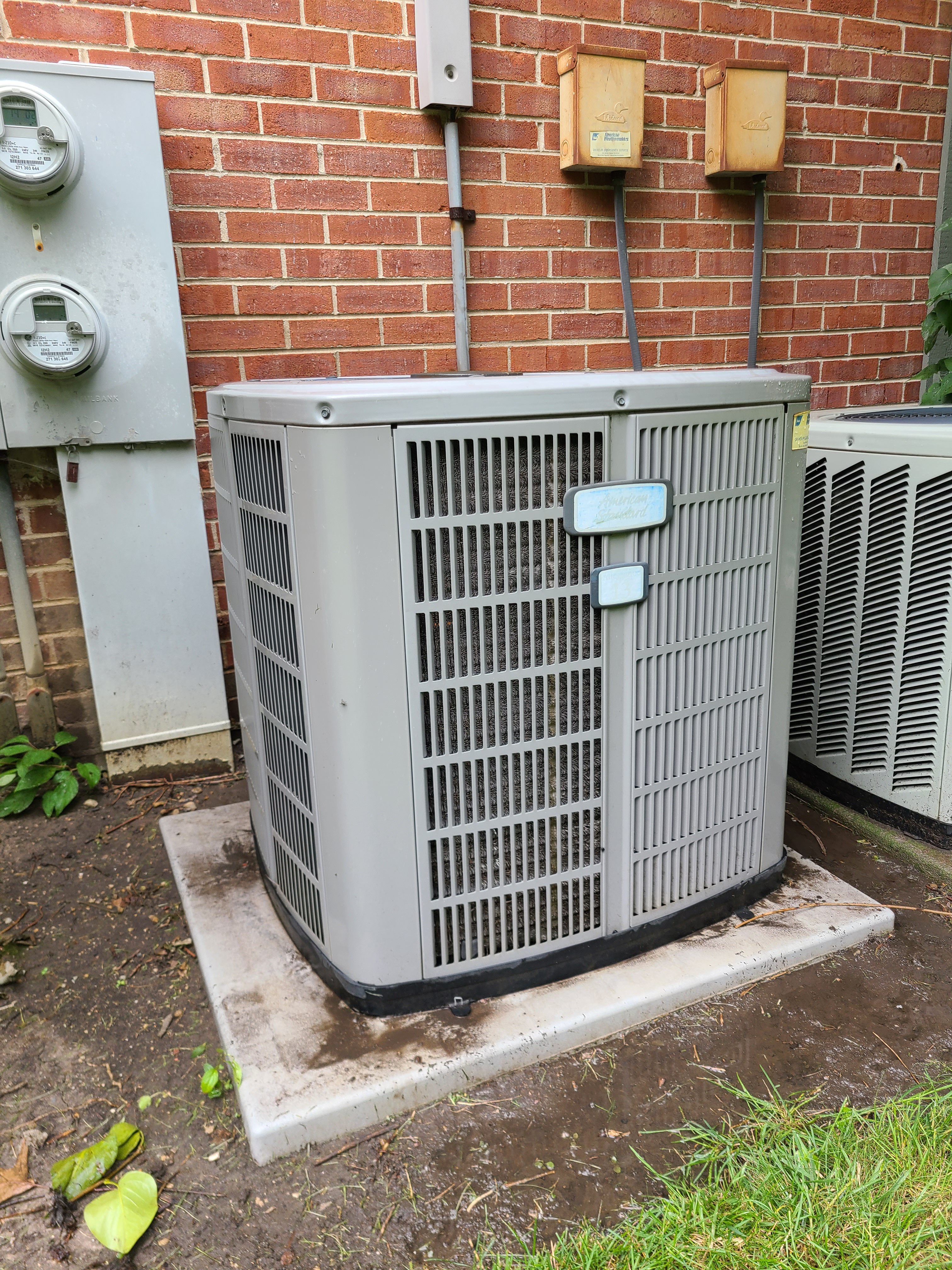 American Standard r410a system cleaned and tested