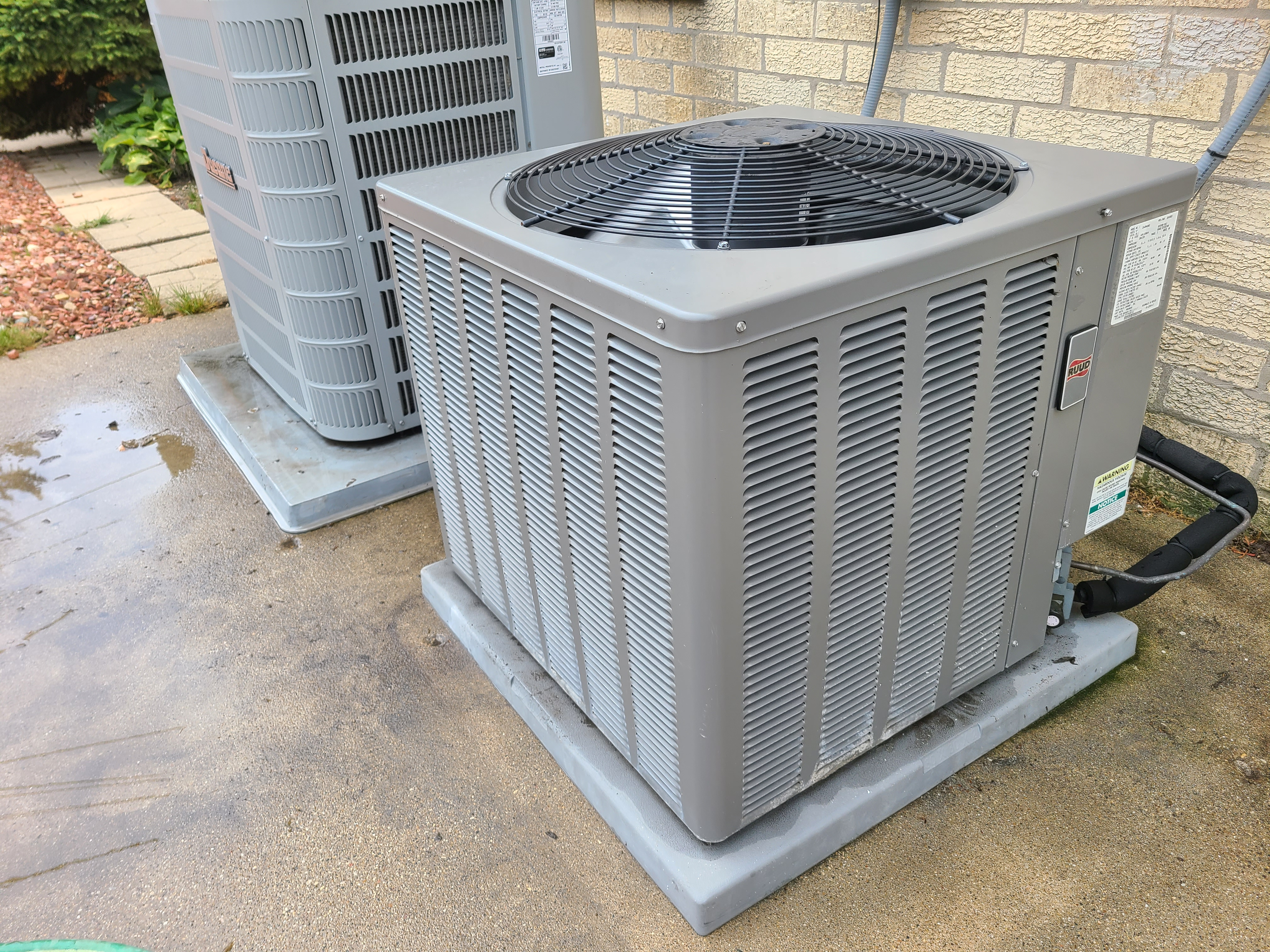 Photo of Duncan and ruud condenser after cts