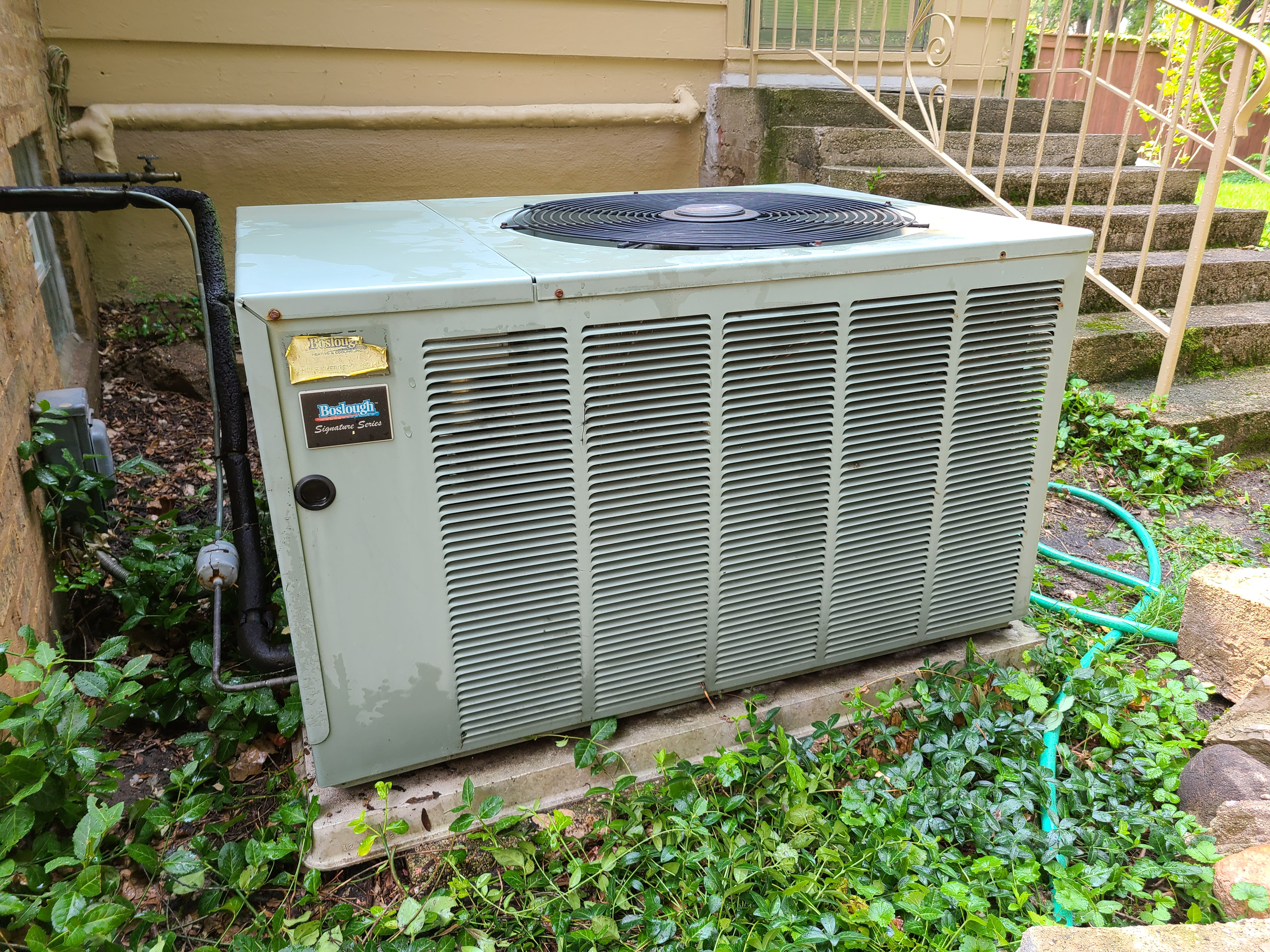 Photo of ac condenser after cts