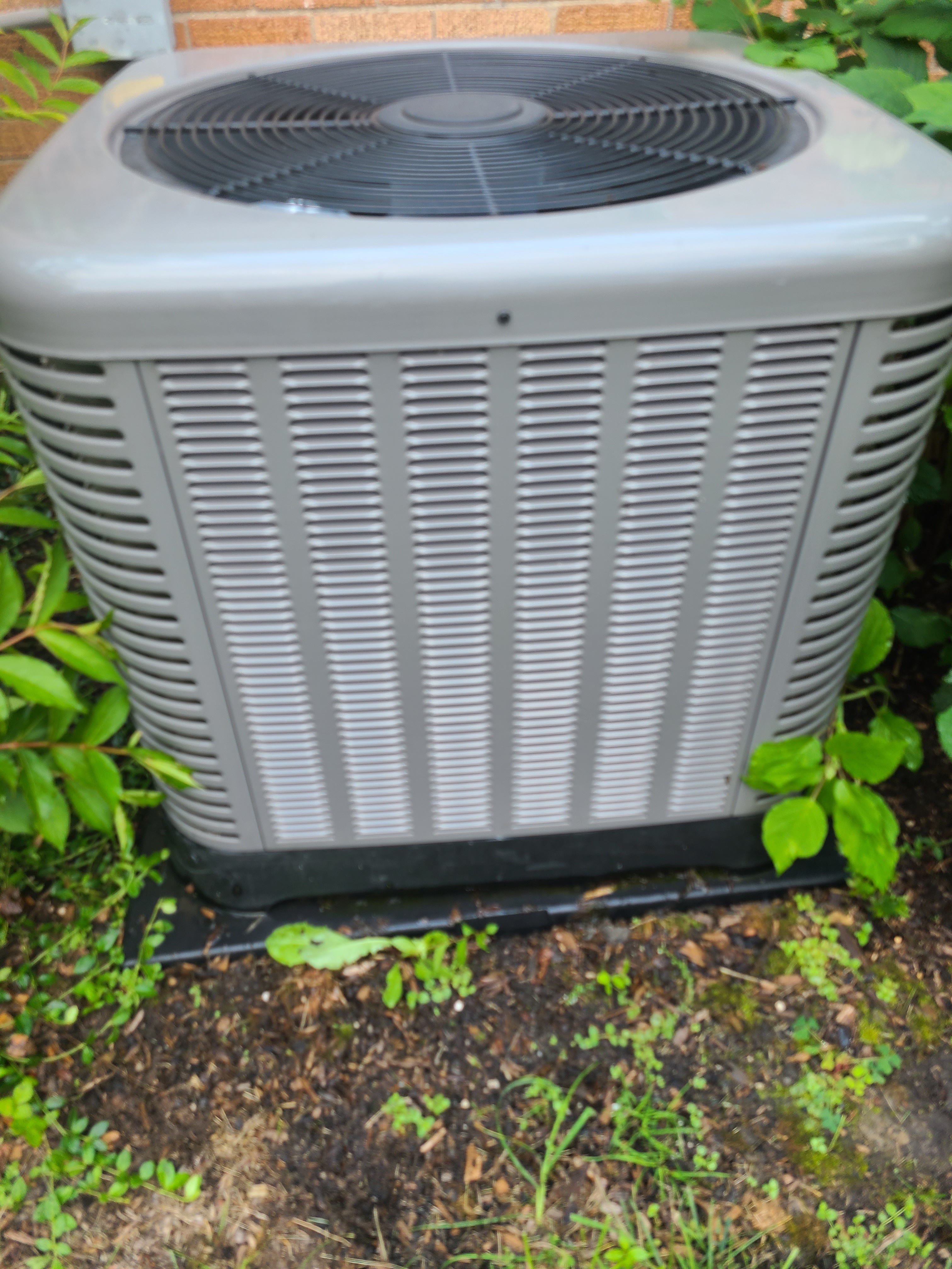 Performed preventative maintenance on a RUUD R410A system to extend the life of the unit. Checked voltage, amperage, temperatures, pressures, and microfarads. Washed condenser coil thoroughly.
