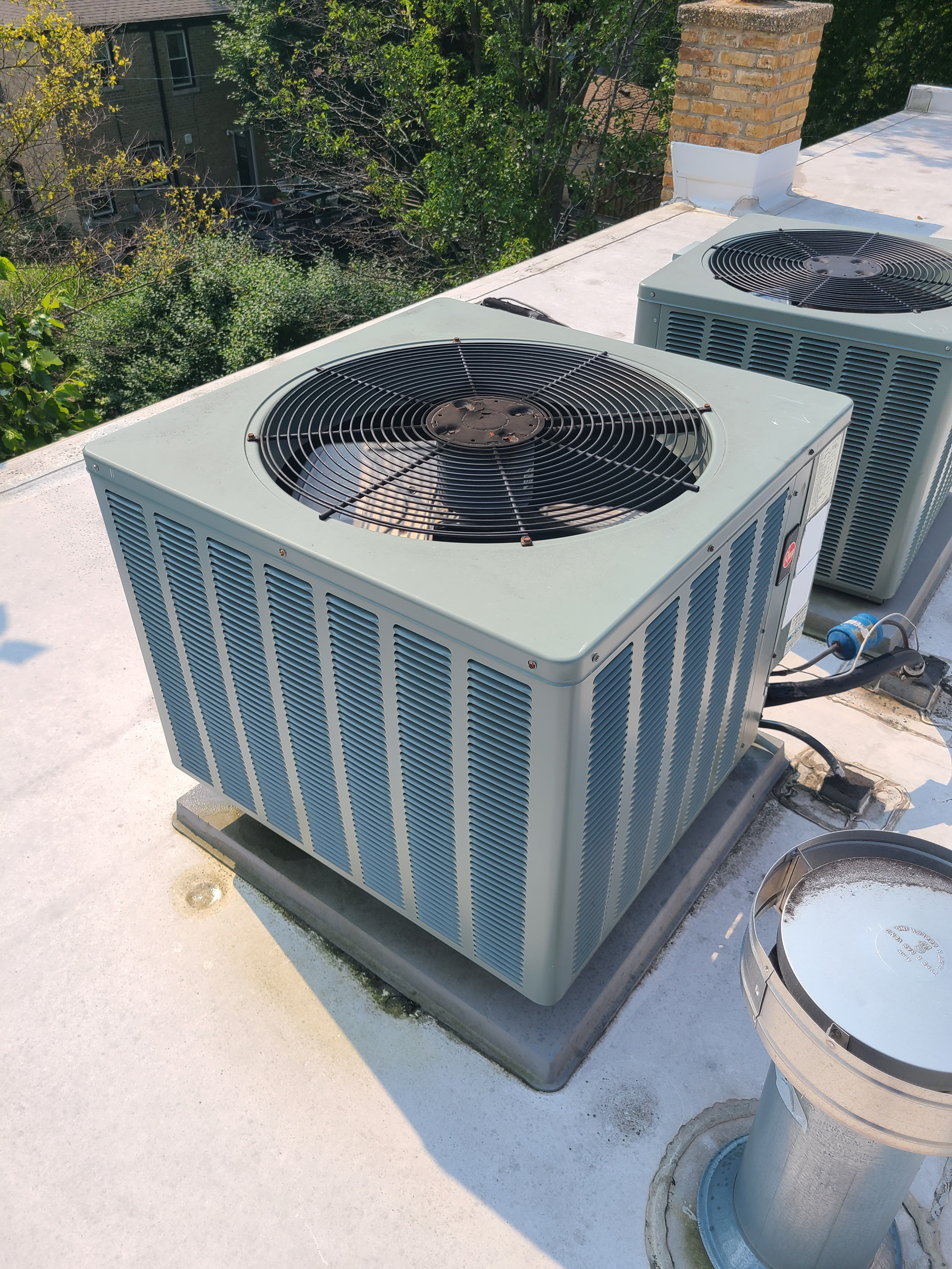 AC summer tune up and maintenance. System cleaned and checked and ready for summer.
