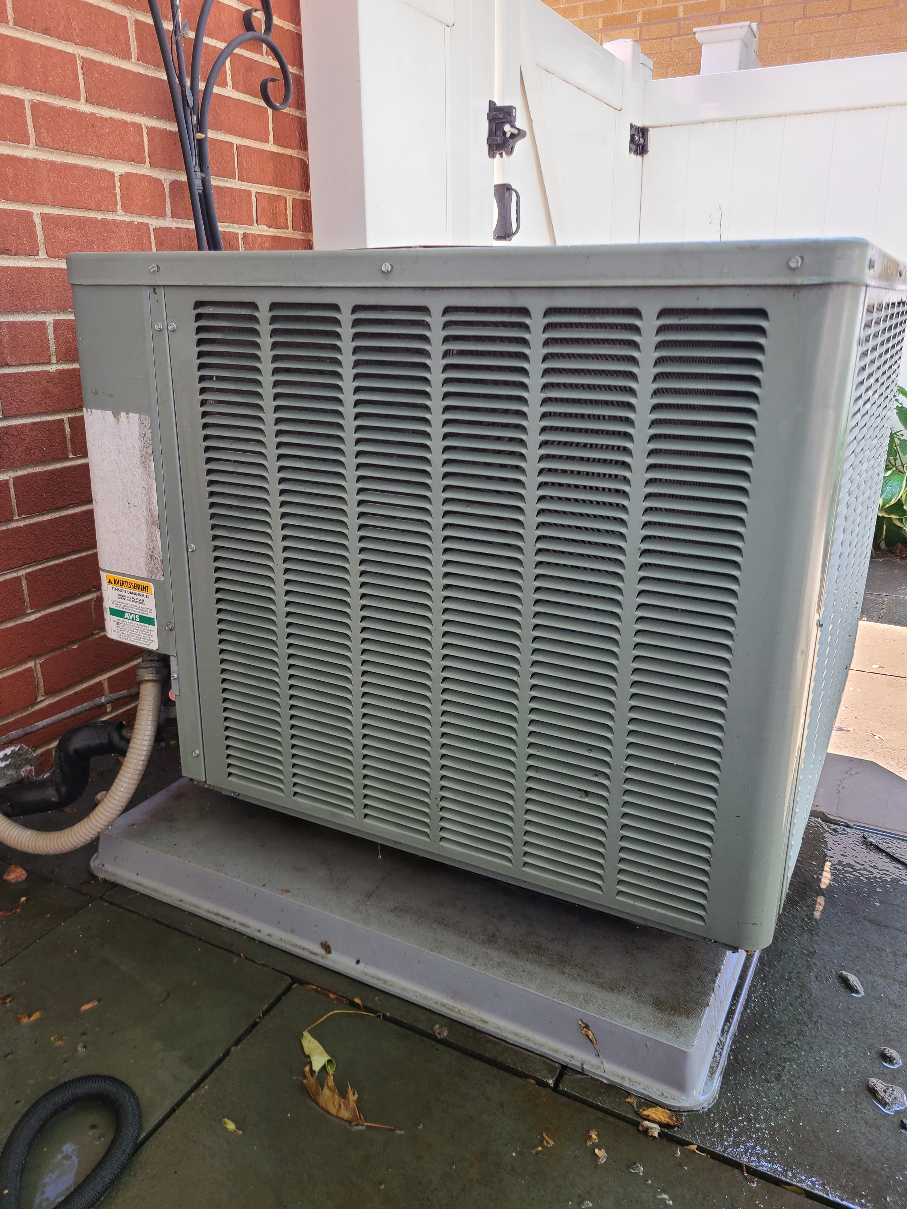 Weatherking r410a system cleaned and tested