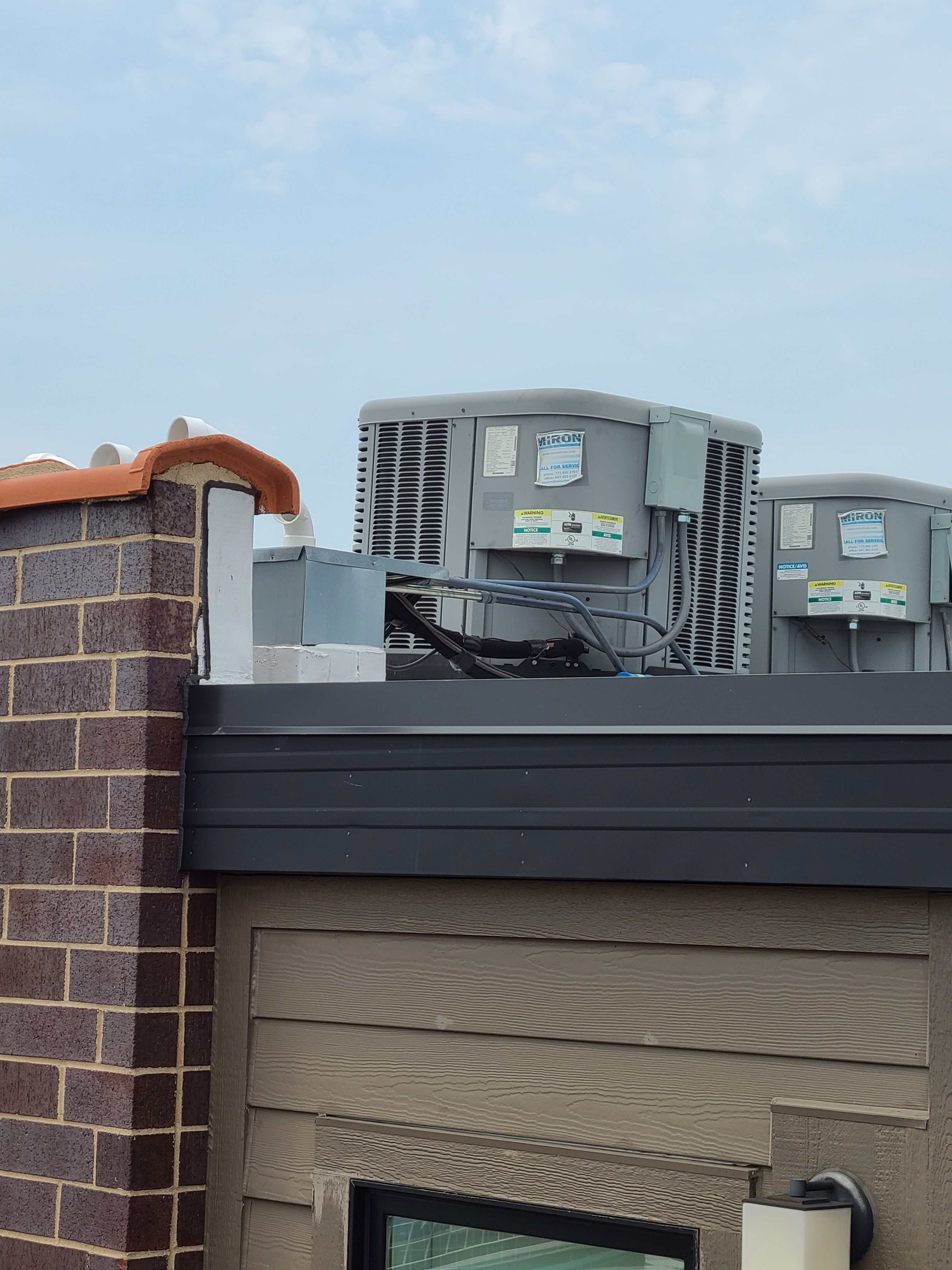 Rheem unit after performing AC cts