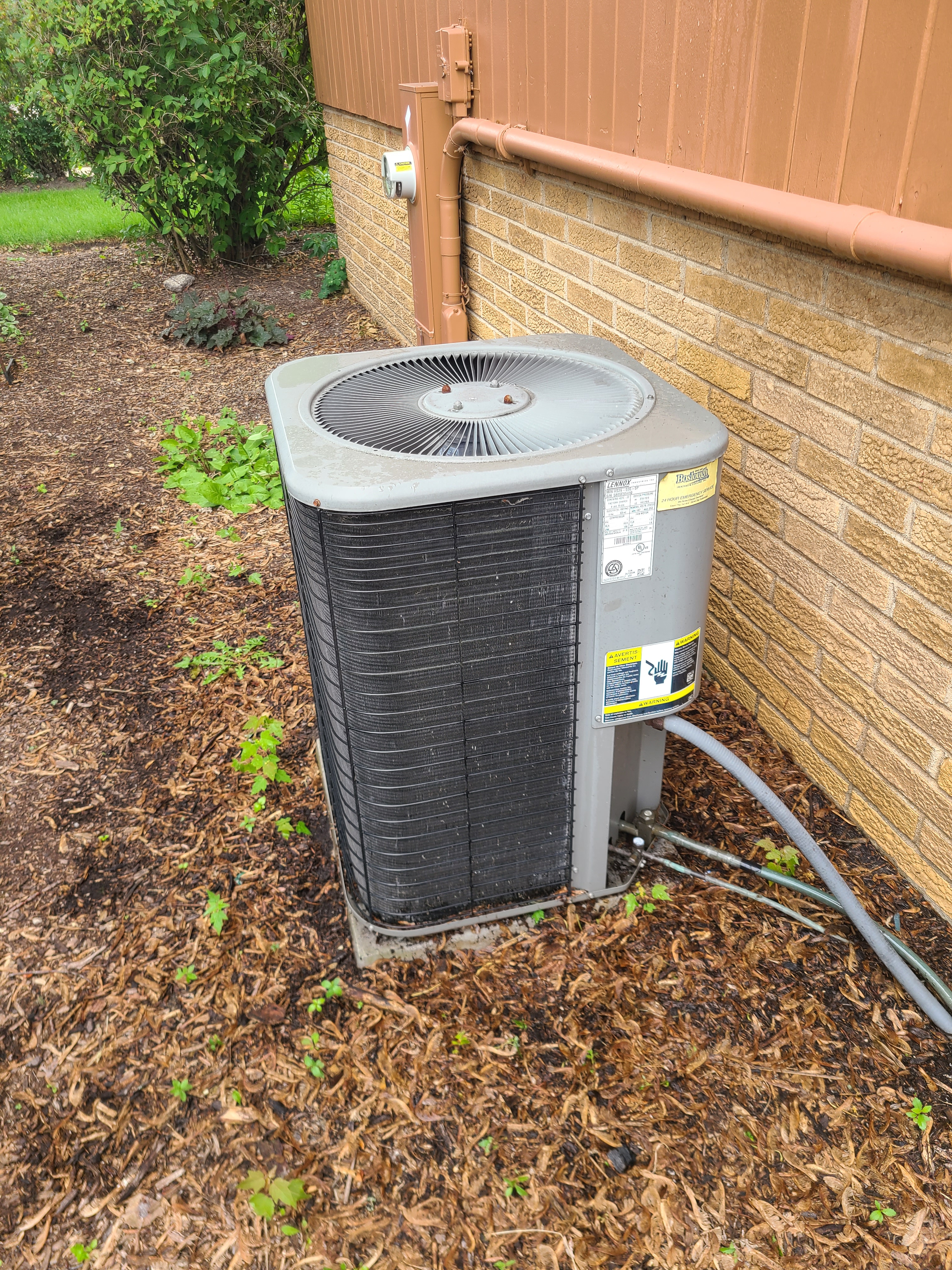 Lennox r22 system cleaned and tested