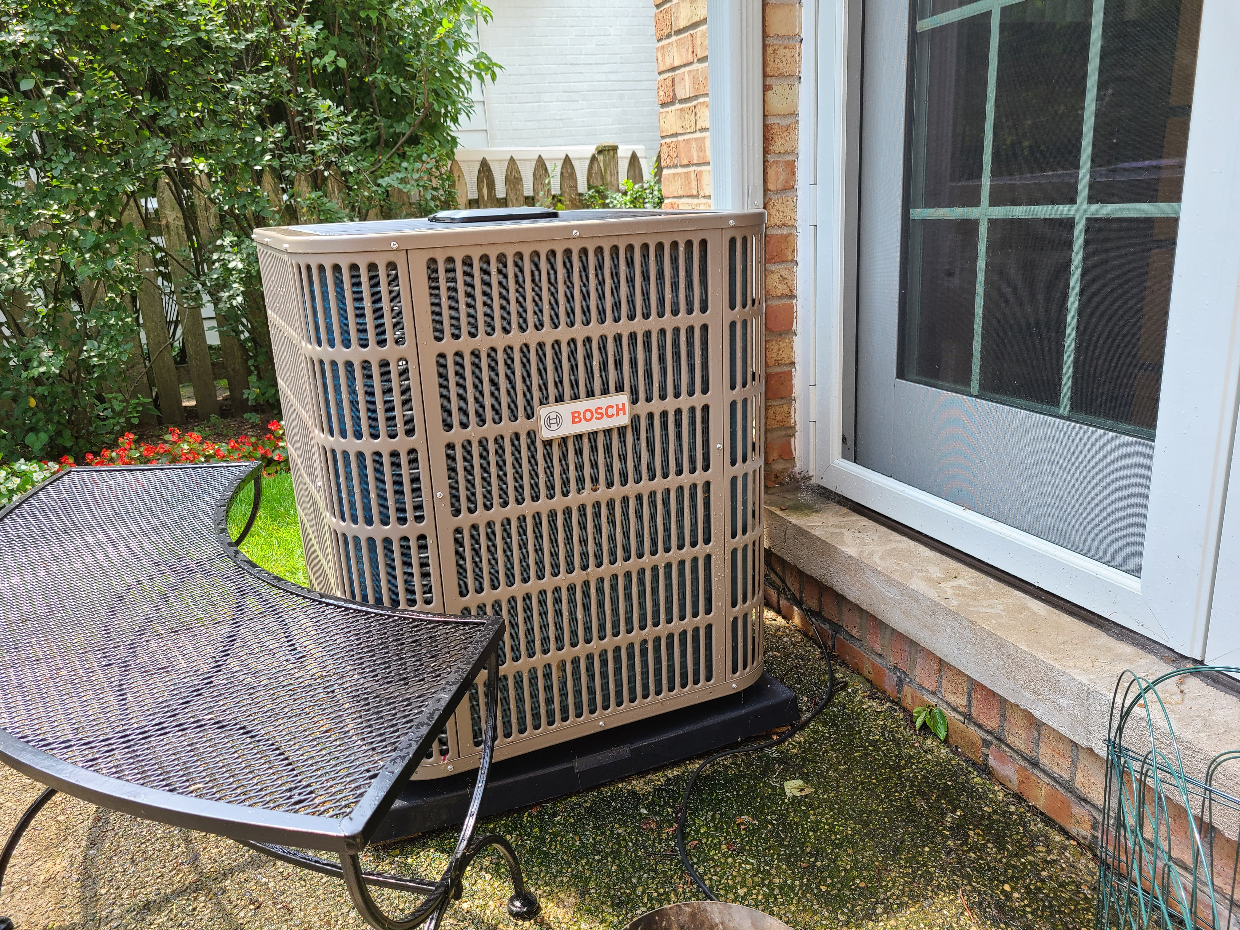 photo of Bosch Condenser after performing CTS