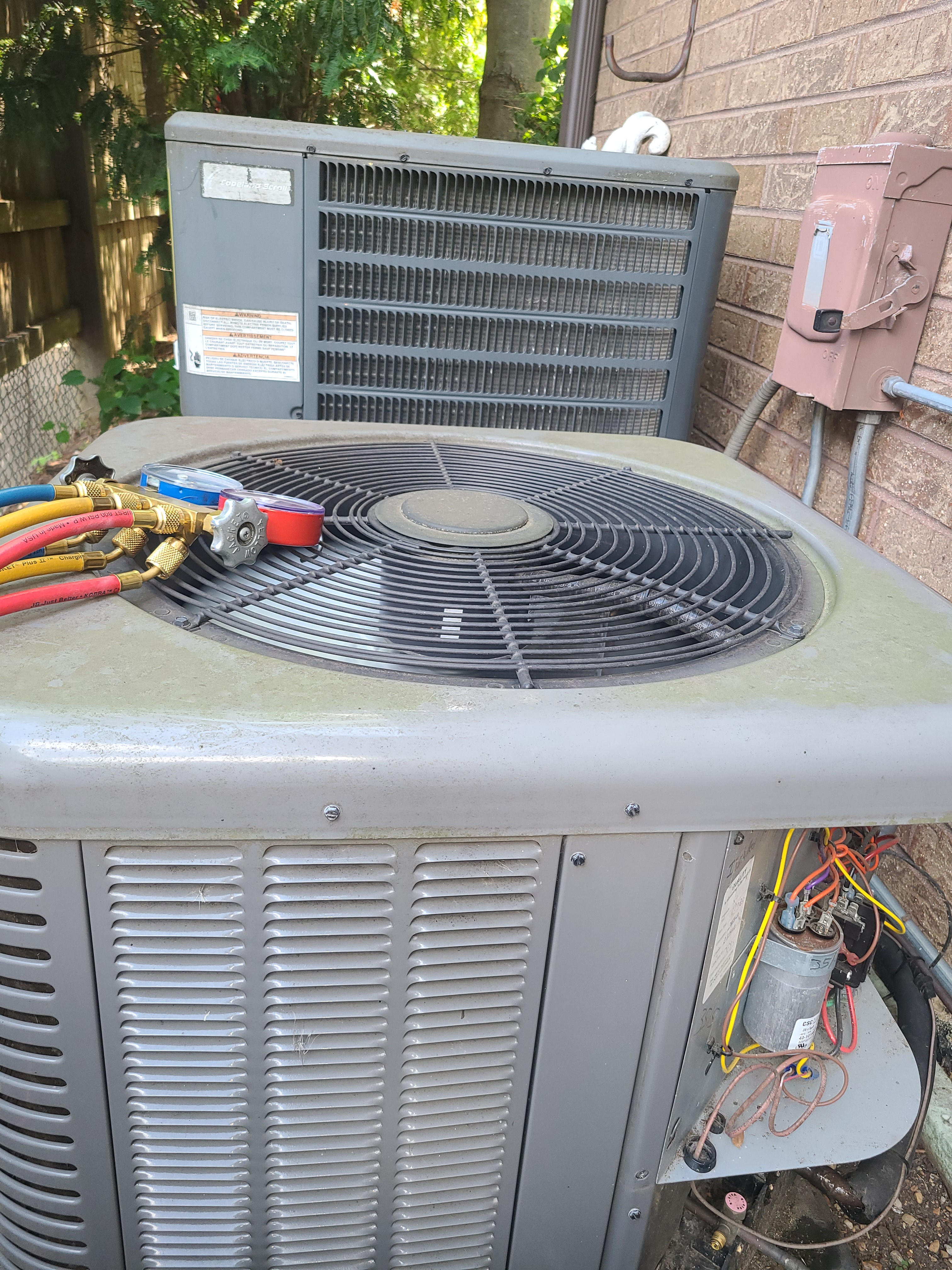 AC maintenance on two zone home in Glenview