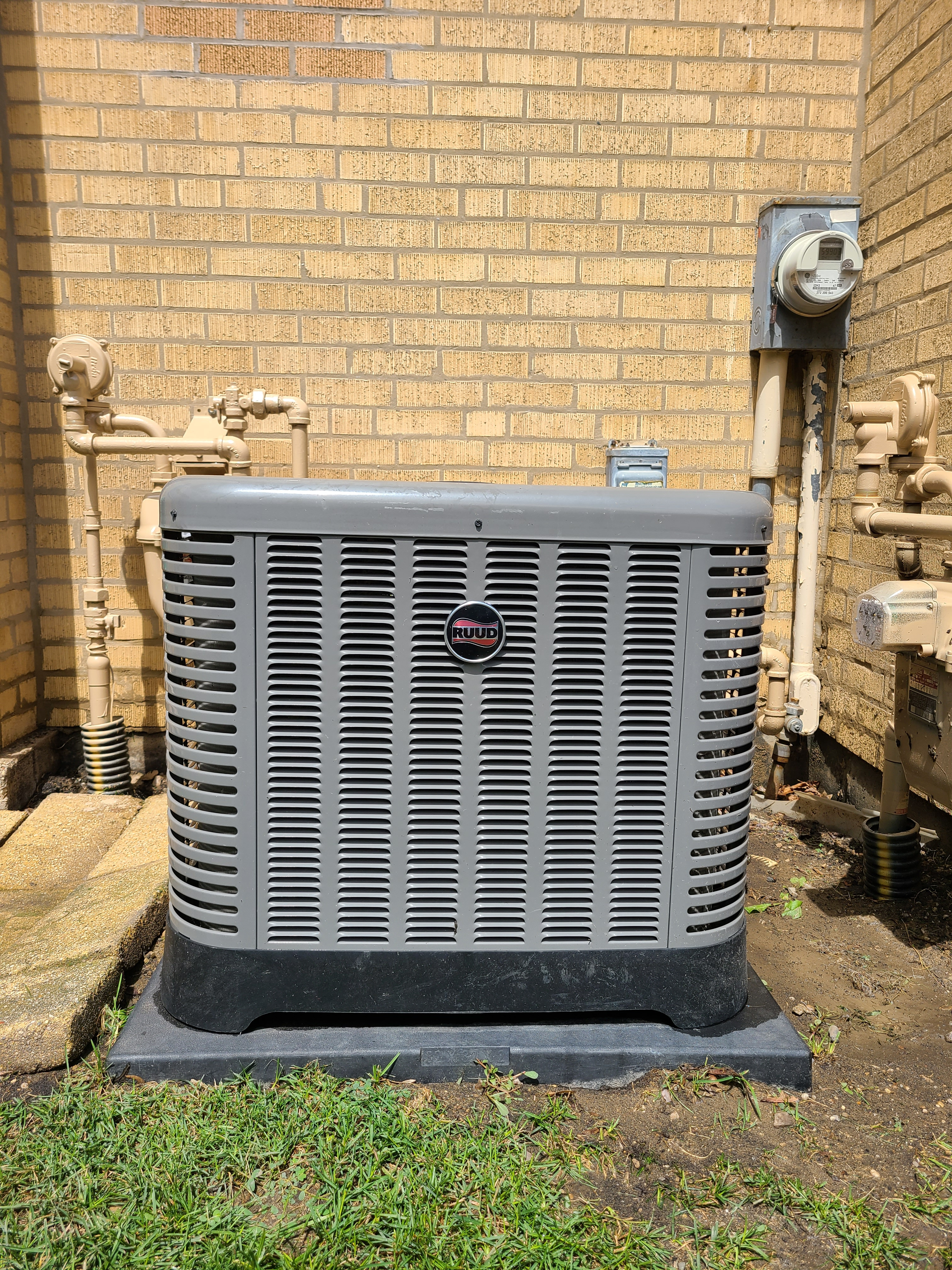 Photo of Ruud Condenser after CTS