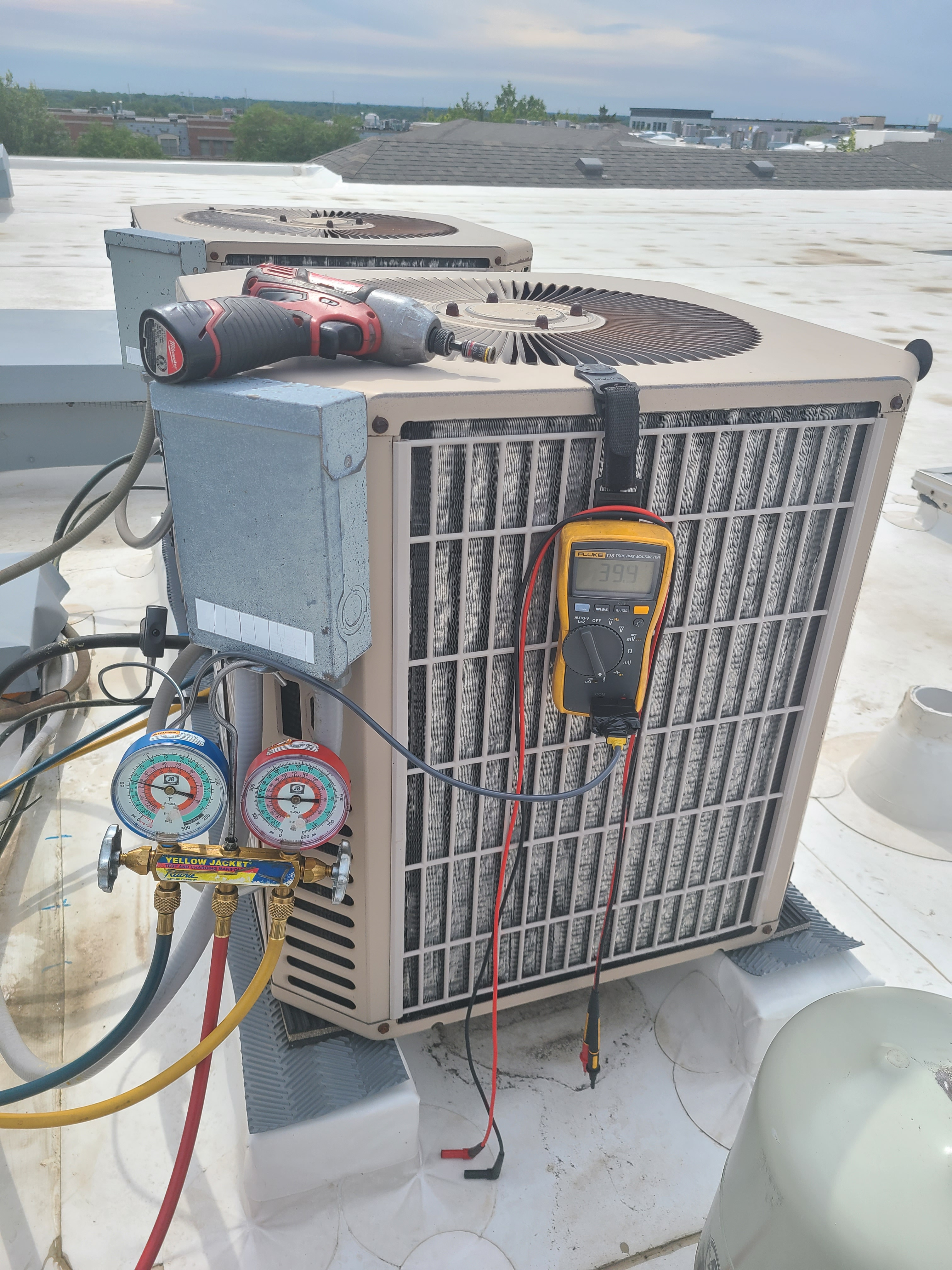 York air conditioning no cooling issue diagnosed and repaired