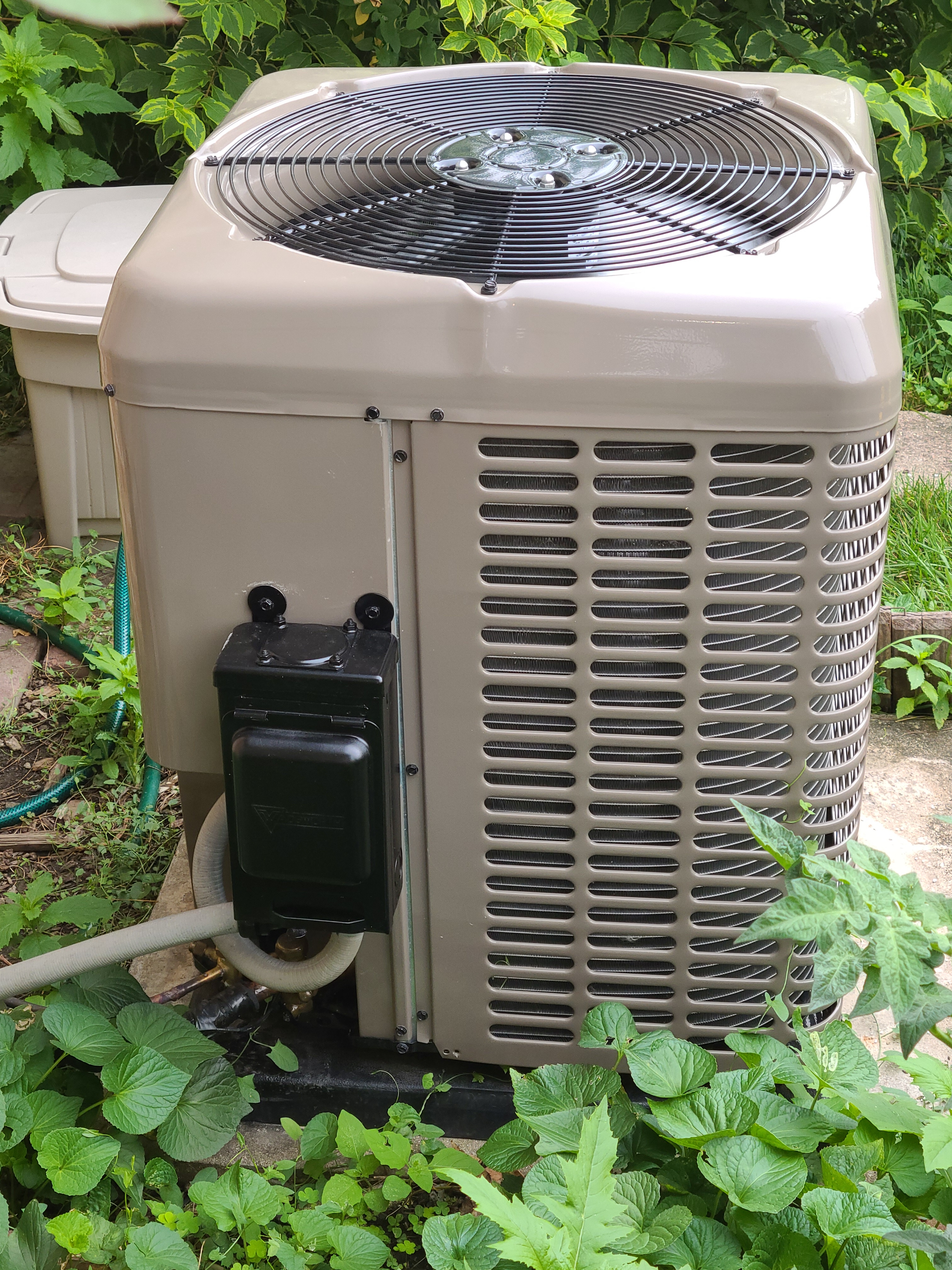 Installation of York condensing unit in Niles