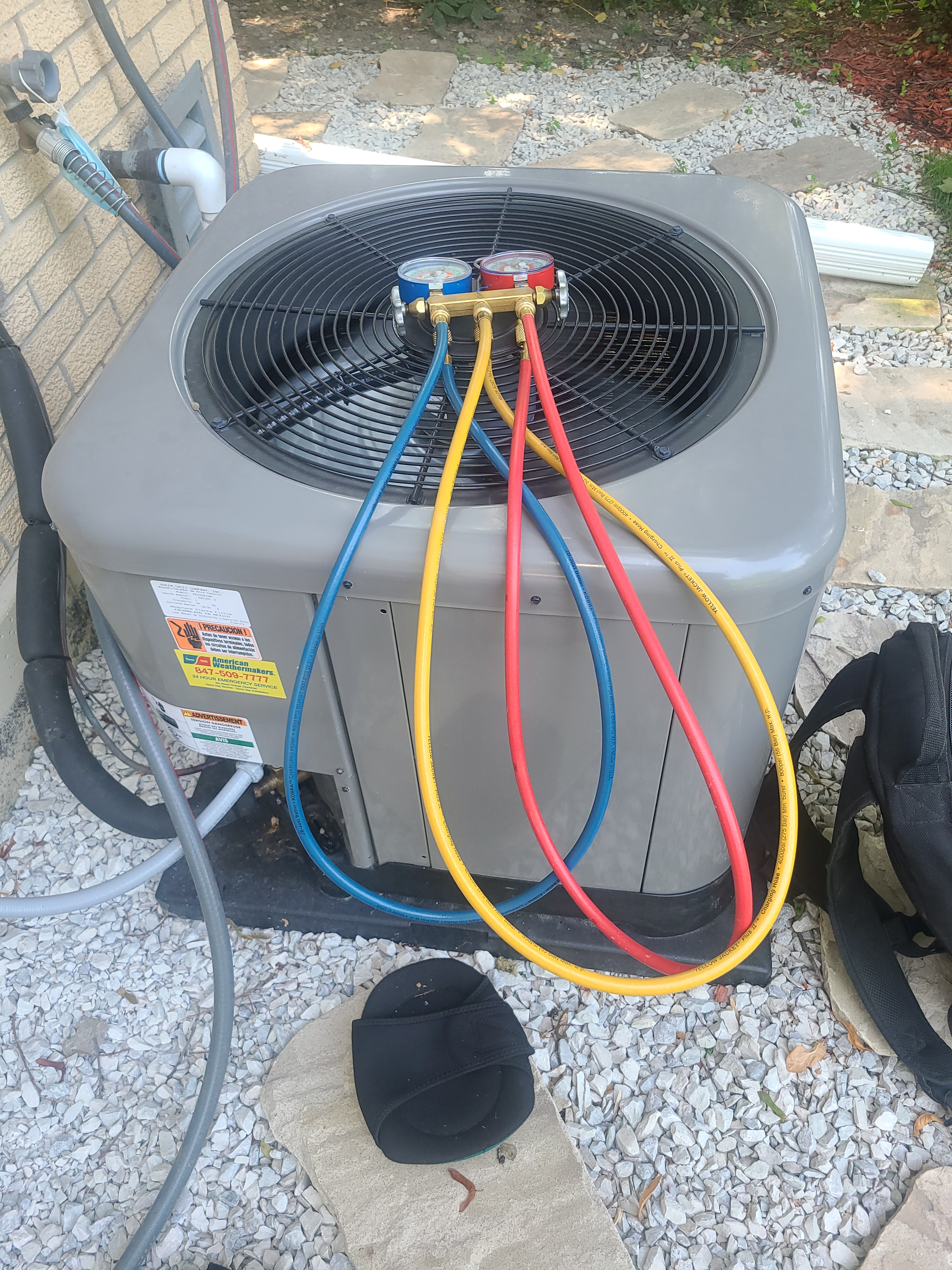 Follow up to newly installed AC system in Skokie