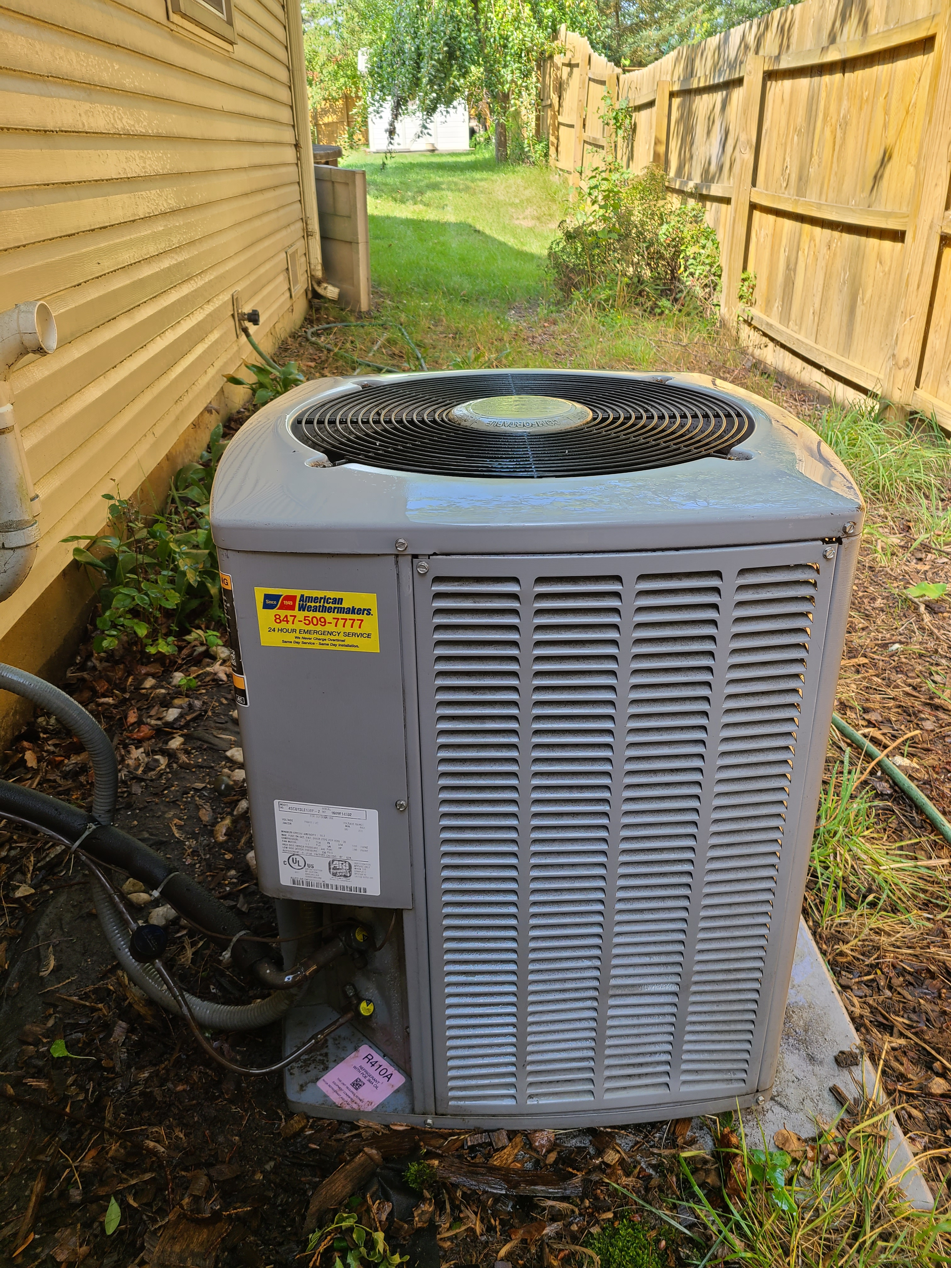Armstrong condensing unit