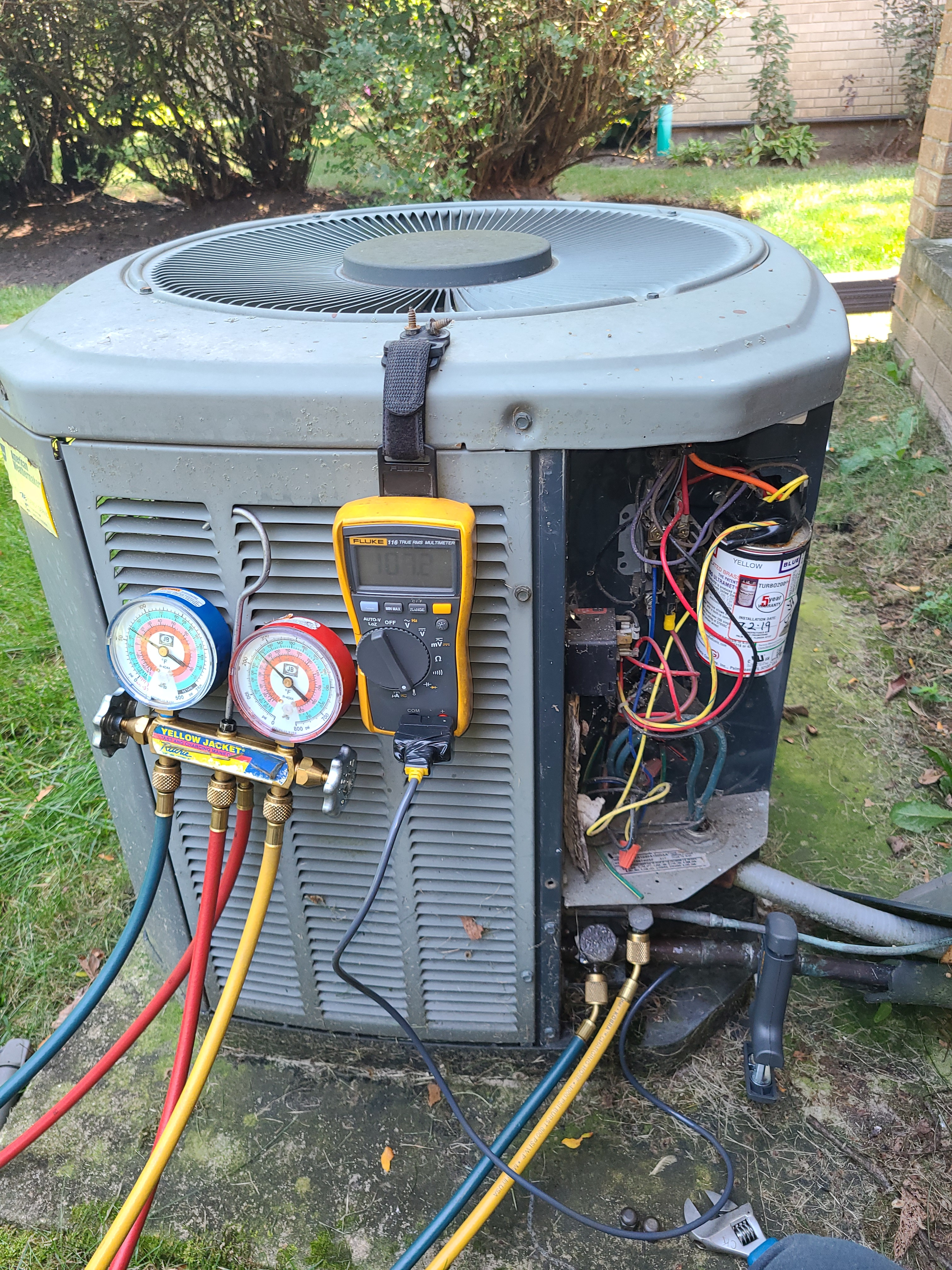 Trane summer ac clean and check.  System tuned up and ready for summer.
