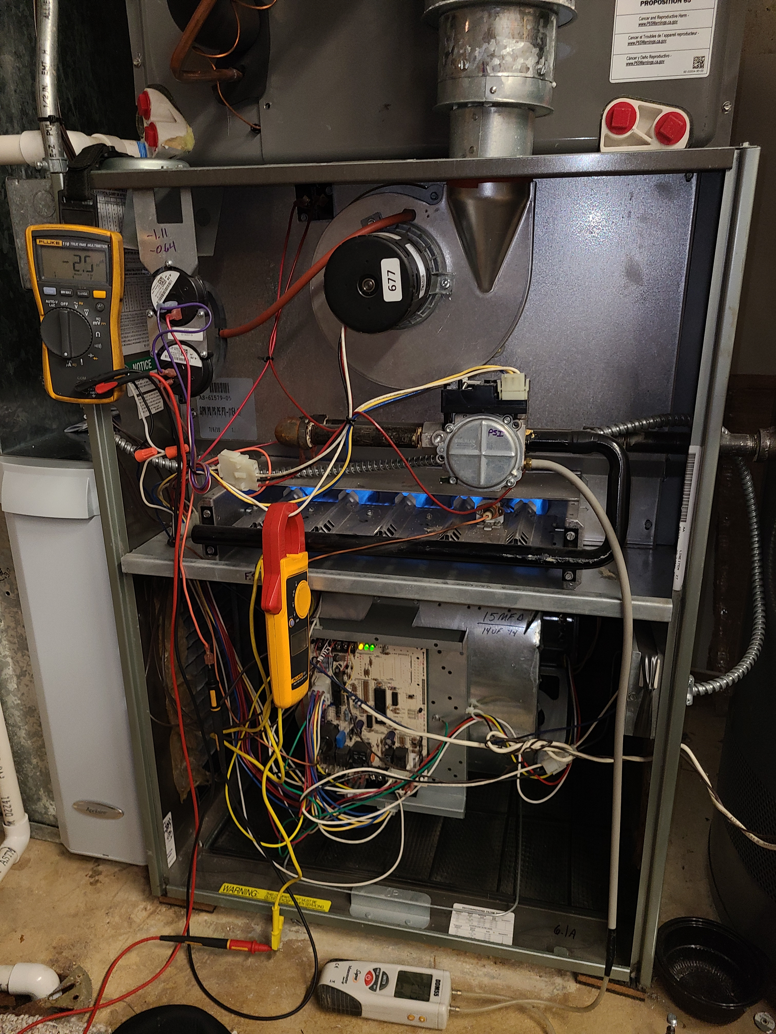 Ruud fall furnace tune up. System cleaned and checked and ready for winter.