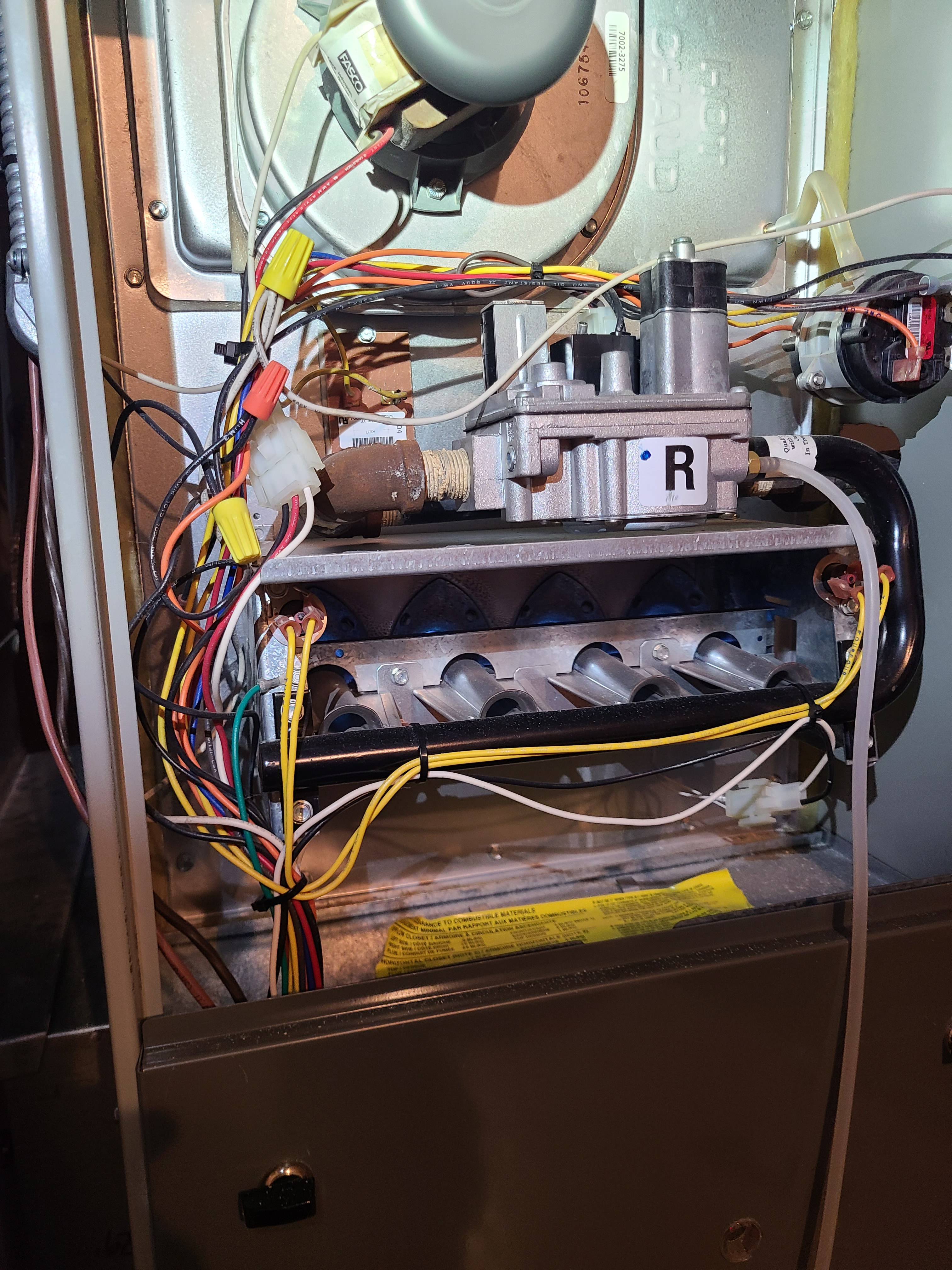 Trane 80%efficiency furnace cleaned and tested