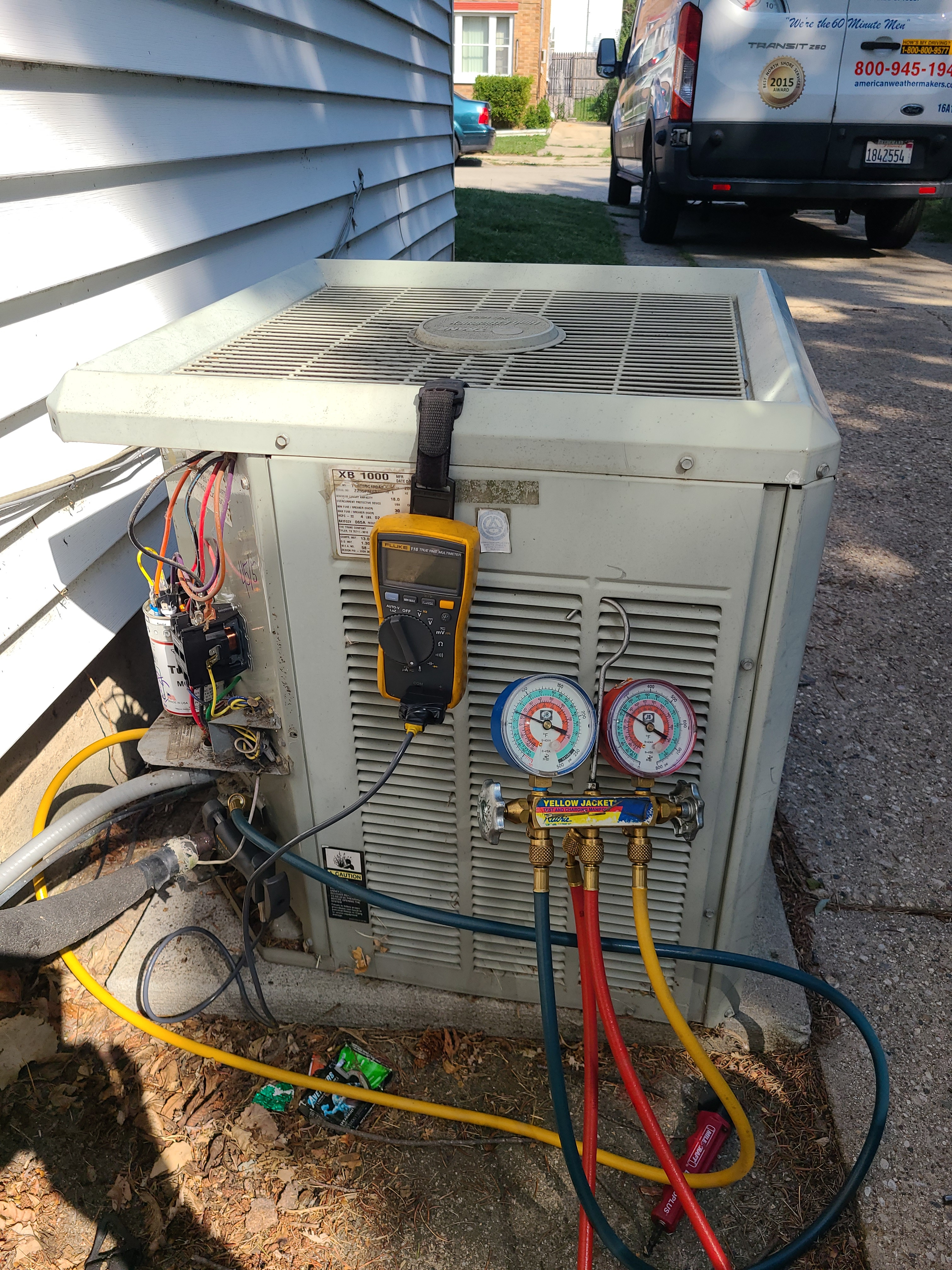 Trane ac no cooling issue diagnosed and repaired.