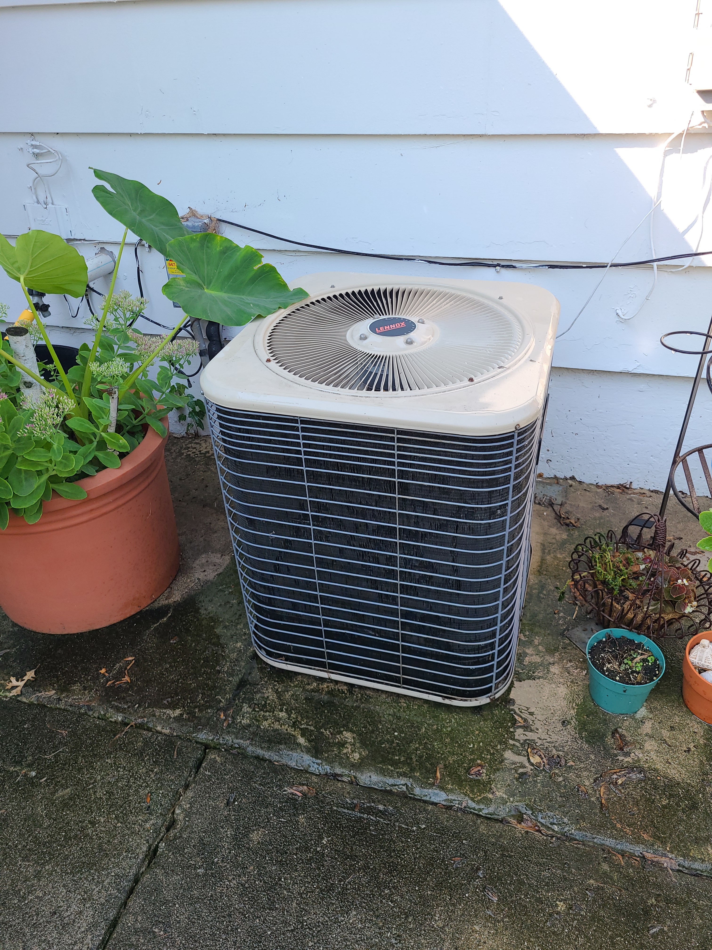 Lennox ac summer clean and check.  System tuned up and ready for summer.