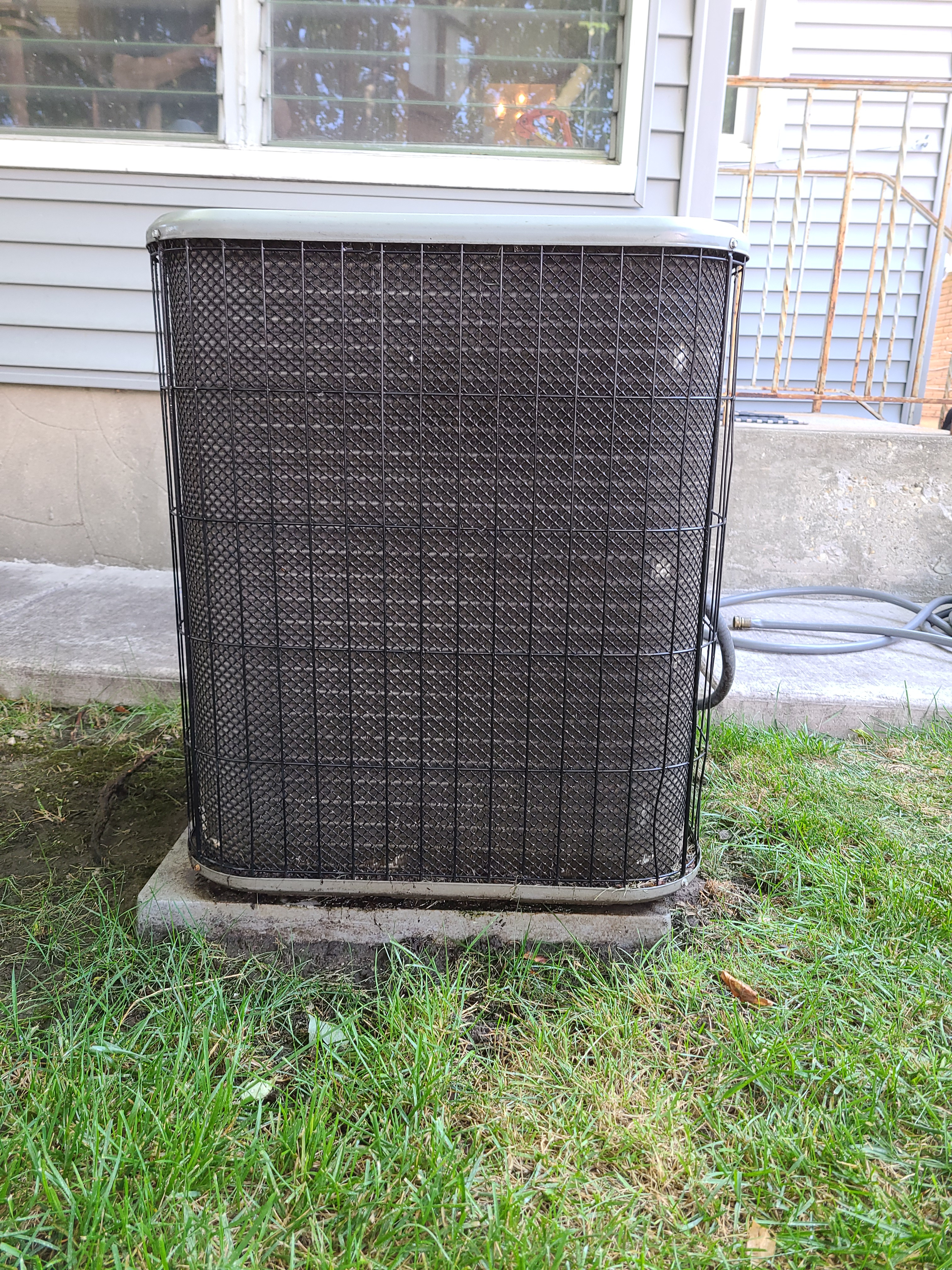 Photo of Lennox unit after CTS