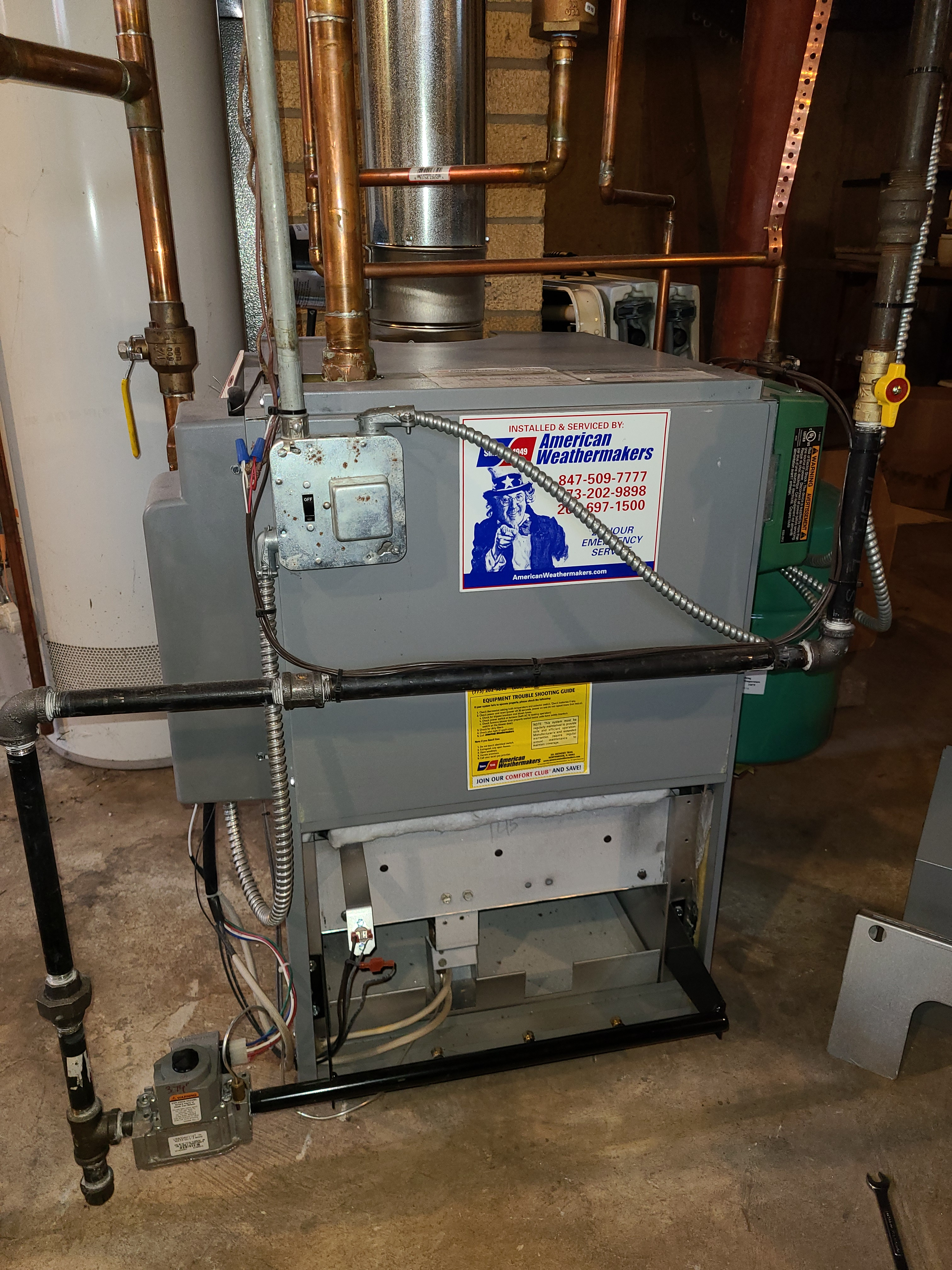 Pennco boiler fall clean and check. System tuned up and ready for winter.
