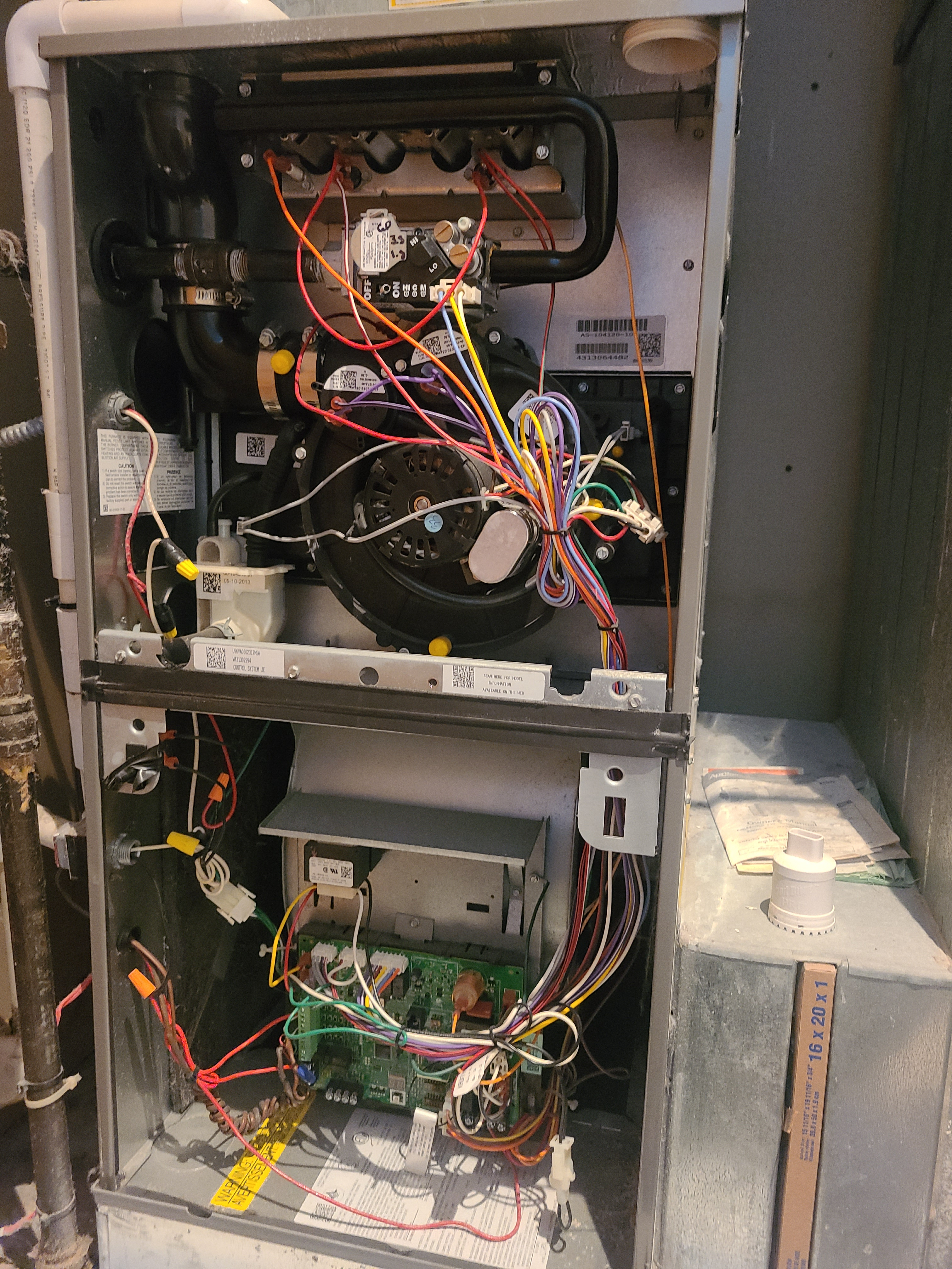 Furnace maintenance for fall time RUDD 90%EFF FURNACE IN CHICAGO