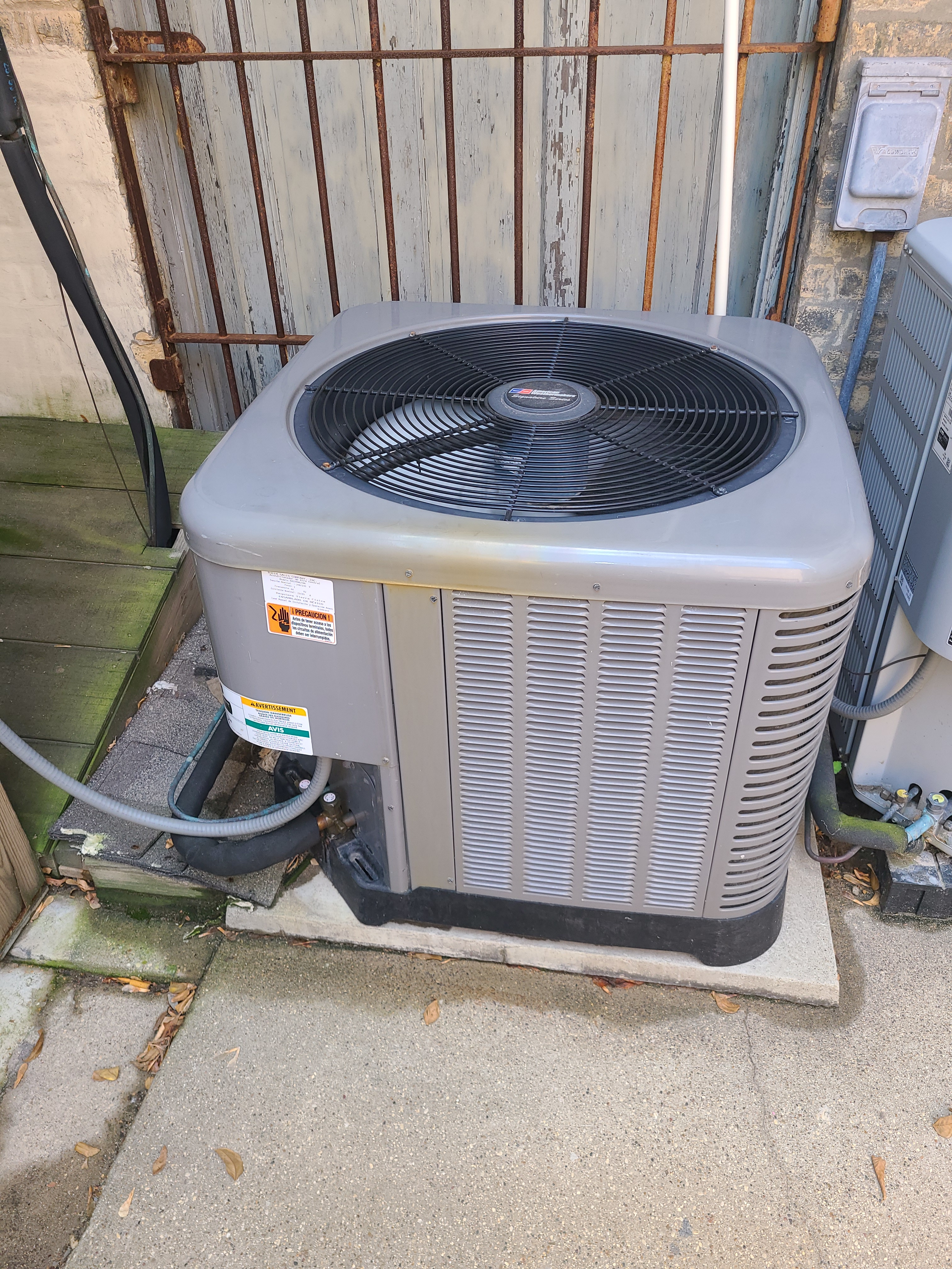 Ruud ac system frozen. System issue diagnosed and repaired.