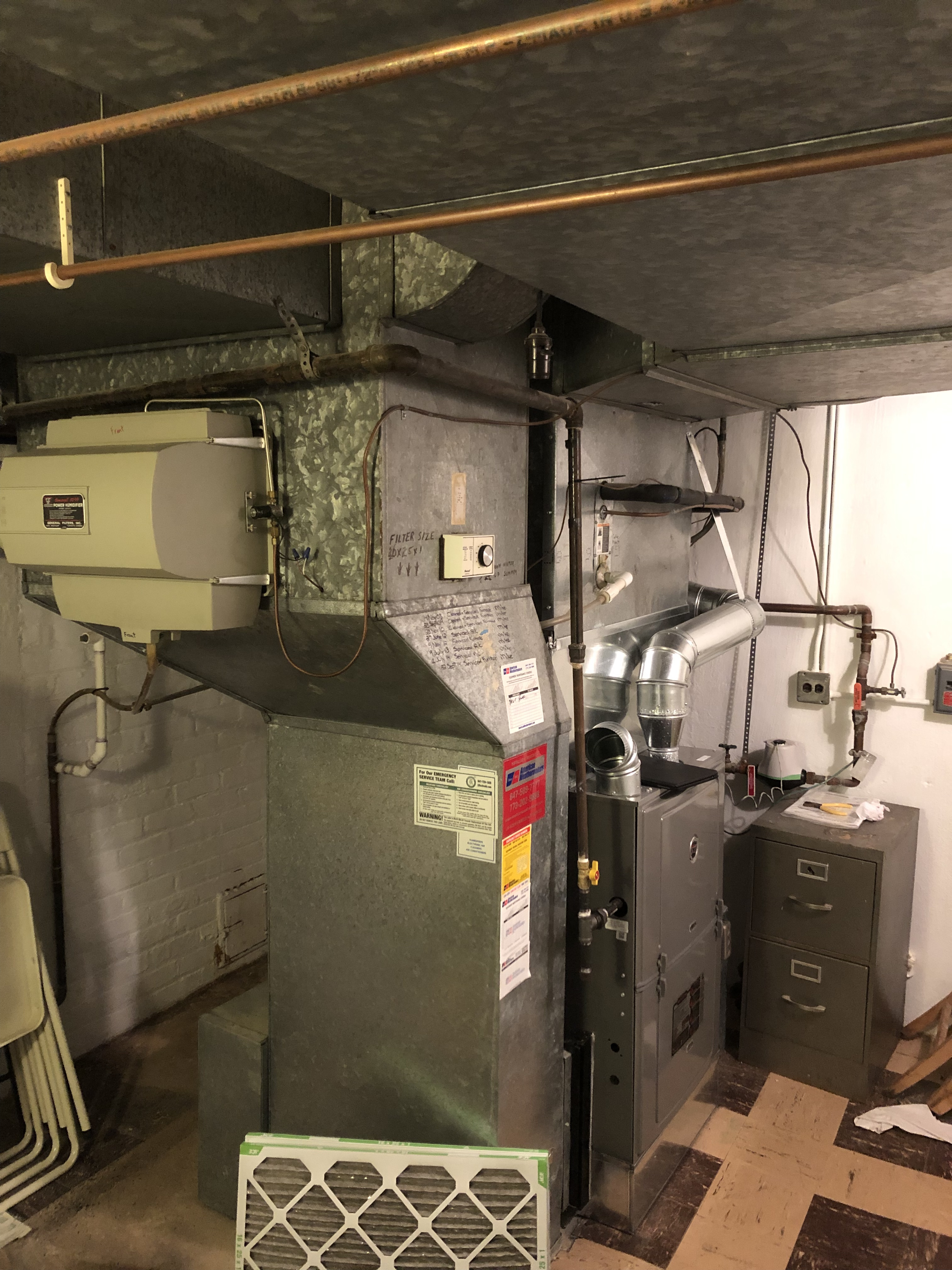 Provided club customer with annual preventative maintenance on 2 furnaces and also provided maintenance on there humidifier and took measures to ensure the life expectancy of the equipment